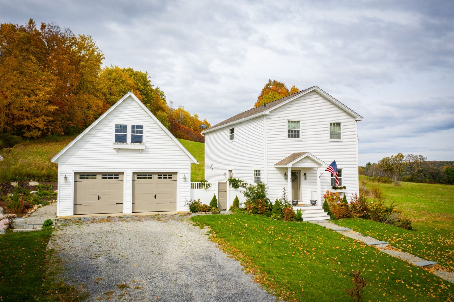 Single Family Homes for Sale at Vermont Farmhouse 1092 Roscoe Rd Charlotte, Vermont 05445 United States