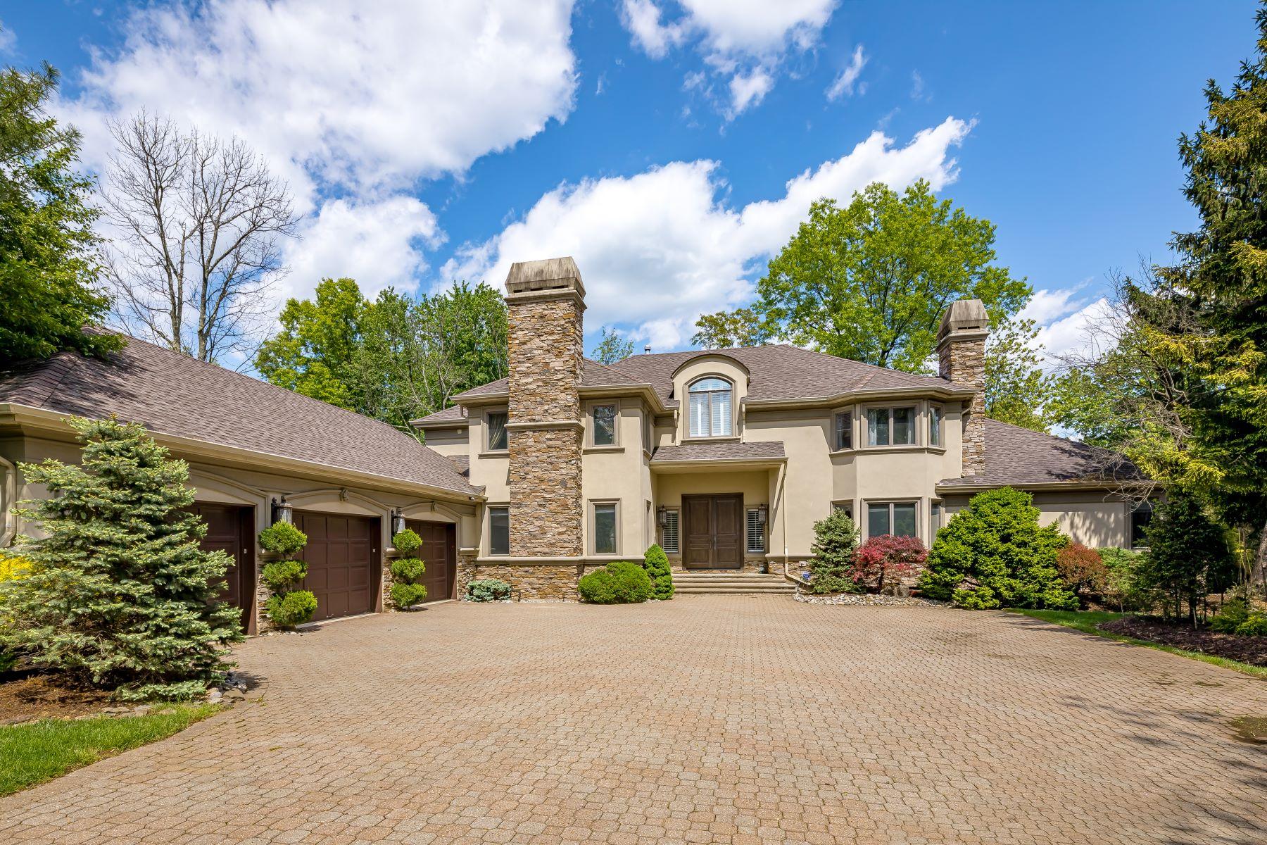 single family homes per Vendita alle ore Elegant Custom Contemporary 7 Vail Court, Bridgewater, New Jersey 08807 Stati Uniti