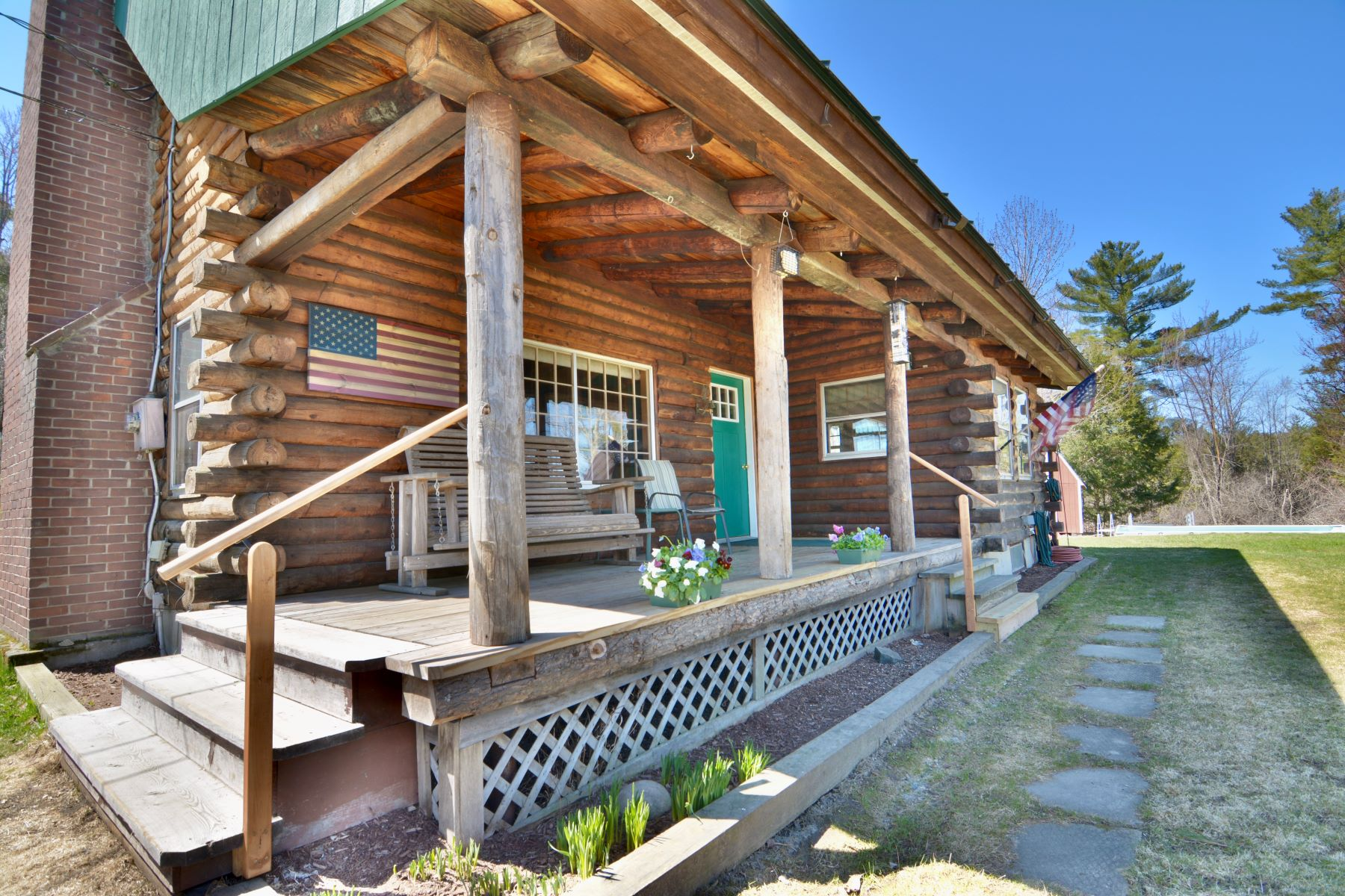 Single Family Homes for Active at Three Bedrom Log Home in Lebanon 58 Daisy Hill Road Lebanon, New Hampshire 03766 United States