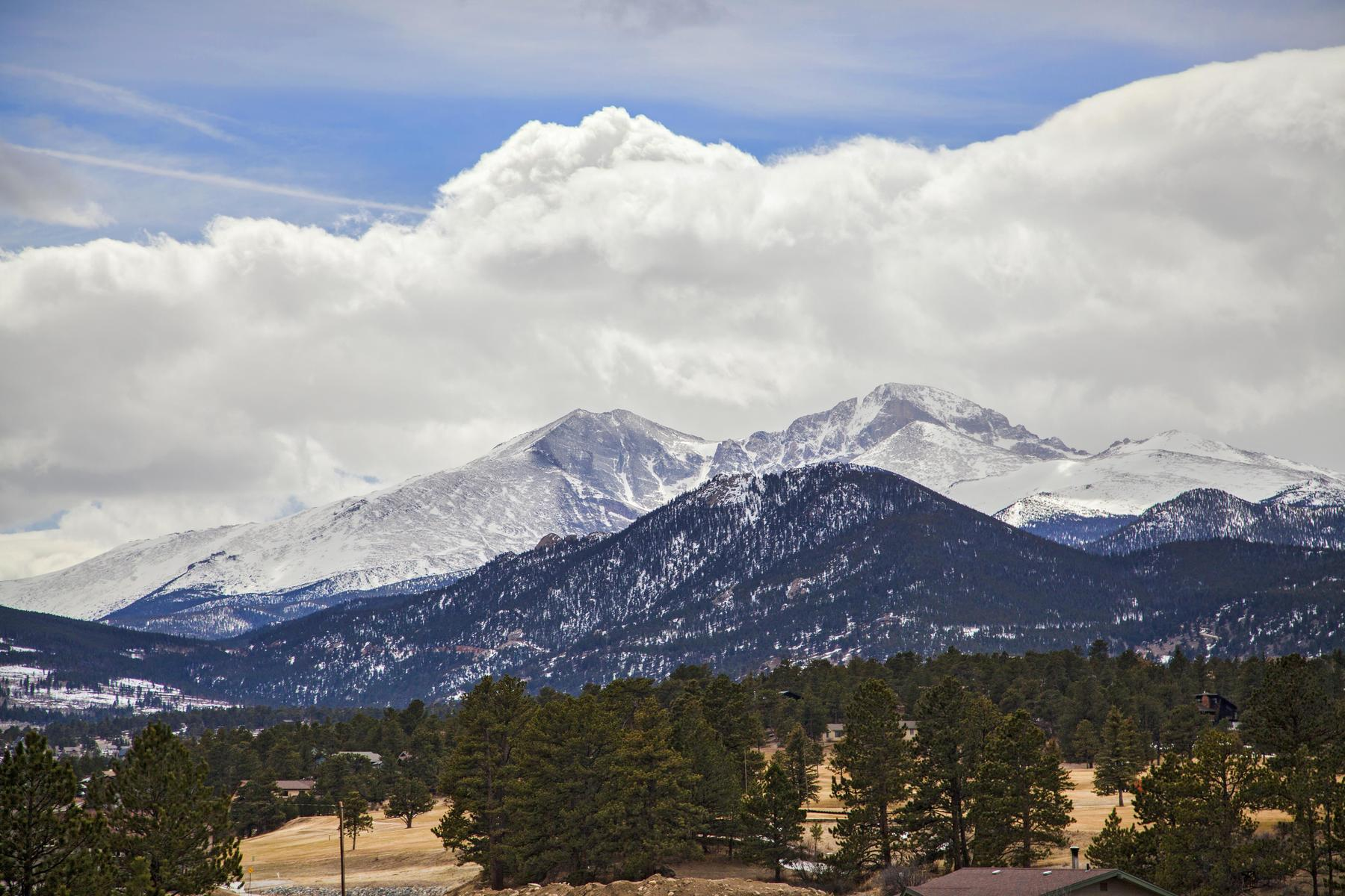 Single Family Homes 為 出售 在 Stunning unobstructed views of Longs Peak and the Estes Valley 898 Fish Creek Road, Estes Park, 科羅拉多州 80517 美國
