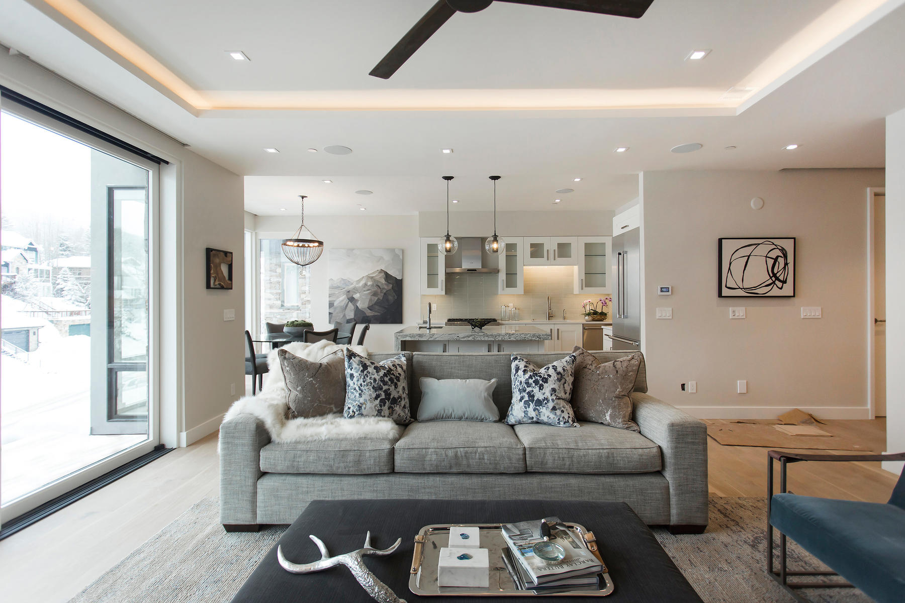 共管式独立产权公寓 为 销售 在 New Contemporary Construction in Old Town 300 Deer Valley Lp #C 帕克城, 犹他州, 84060 美国