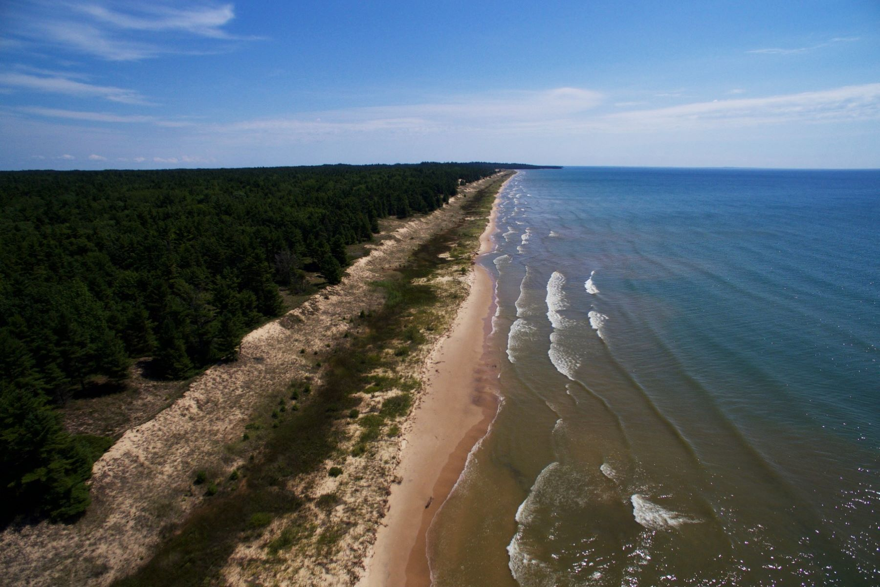Land for Sale at Lake Michigan Waterfront W. Top O the Lake Road Gulliver, Michigan 49840 United States