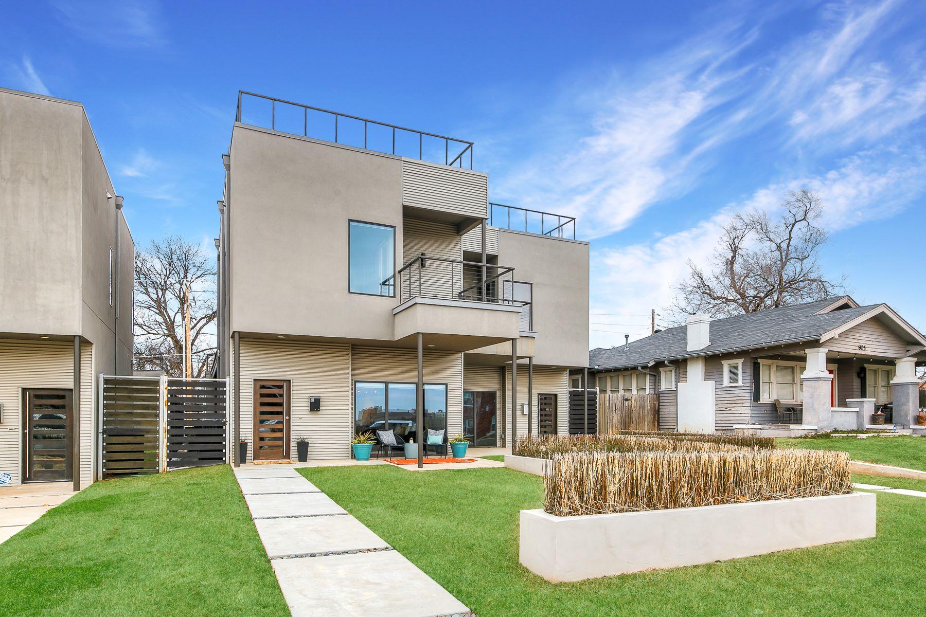 Single Family Homes for Active at Sophistication in SoSA 811 NW 8th ST Oklahoma City, Oklahoma 73106 United States