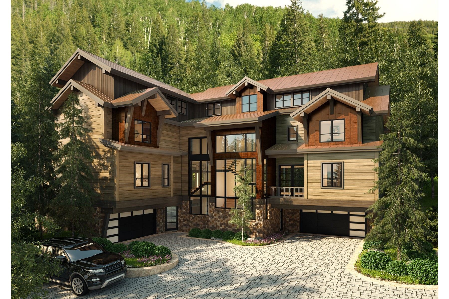 Duplex for Active at Peregrine Villas 187 Elk Track Road Beaver Creek, Colorado 81620 United States