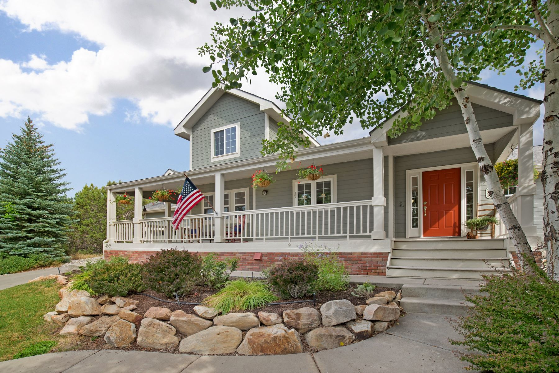 Single Family Home for Active at Stunning Home that Backs Up to BLM 459 Silverhorn Drive New Castle, Colorado 81647 United States