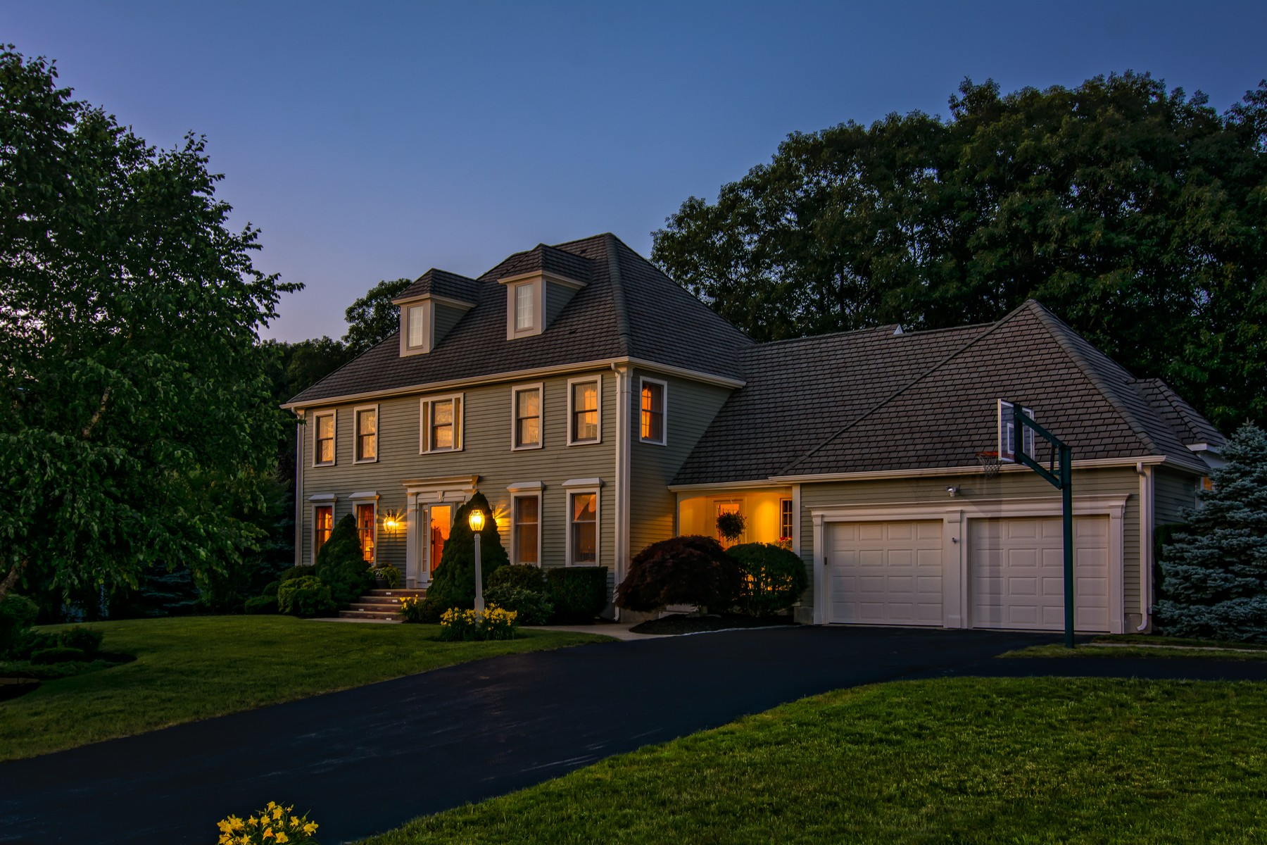 Single Family Home for Sale at Gorgeous Colonial - Fay Acres II 1 Benjamin Drive Westborough, Massachusetts, 01581 United States
