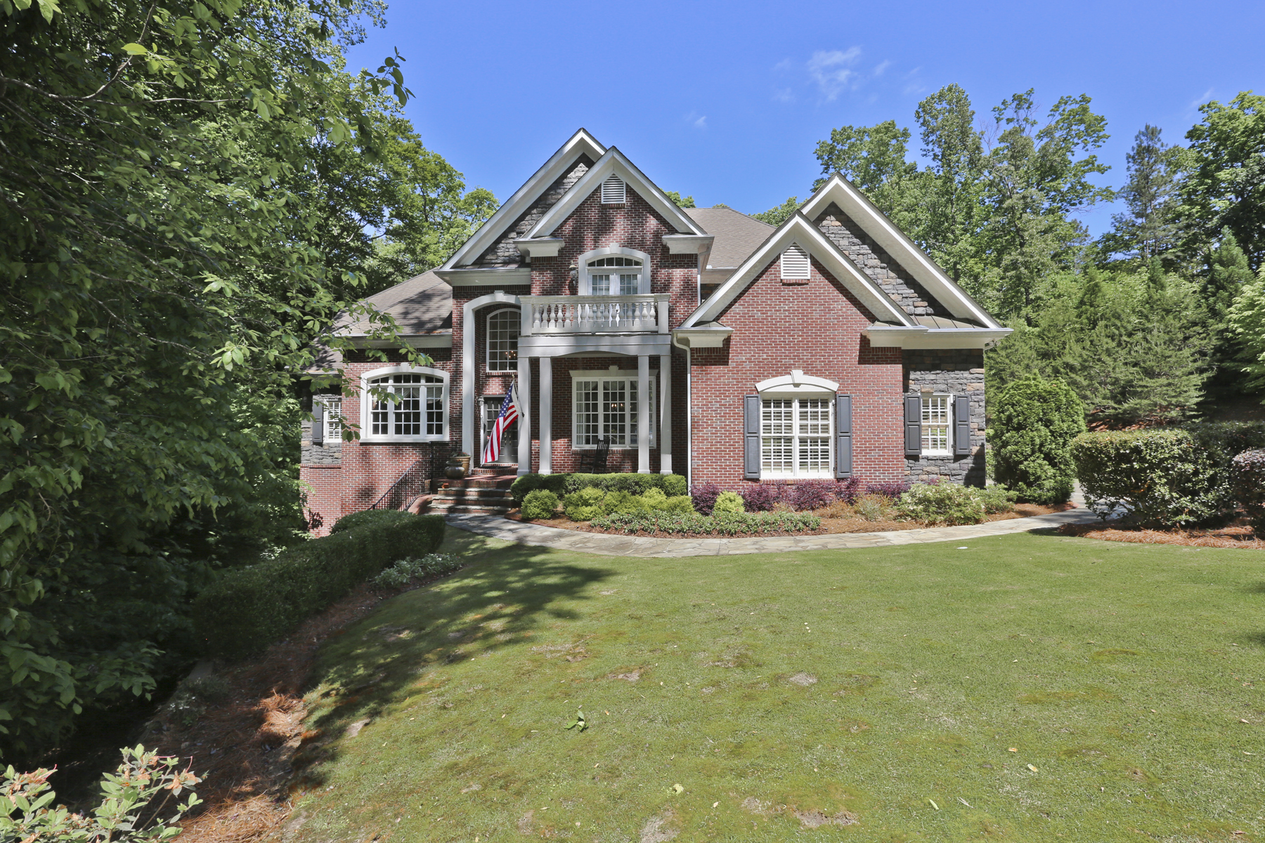 Single Family Home for Sale at Fabulous Executive Home 8222 Hewlett Road Sandy Springs, Georgia 30350 United States