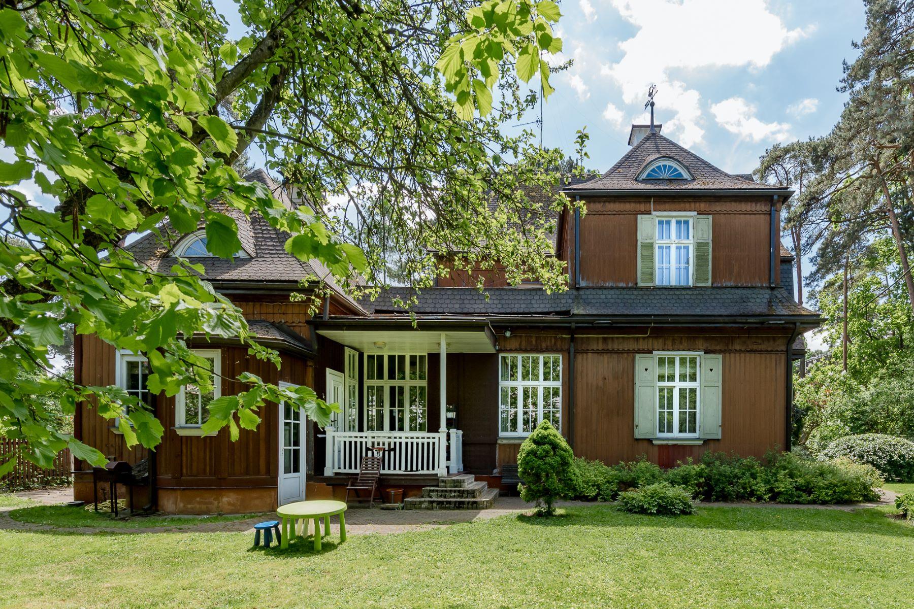 Maison unifamiliale pour l Vente à Historical property in Majori Jurmala, Rigas County, Lettonie