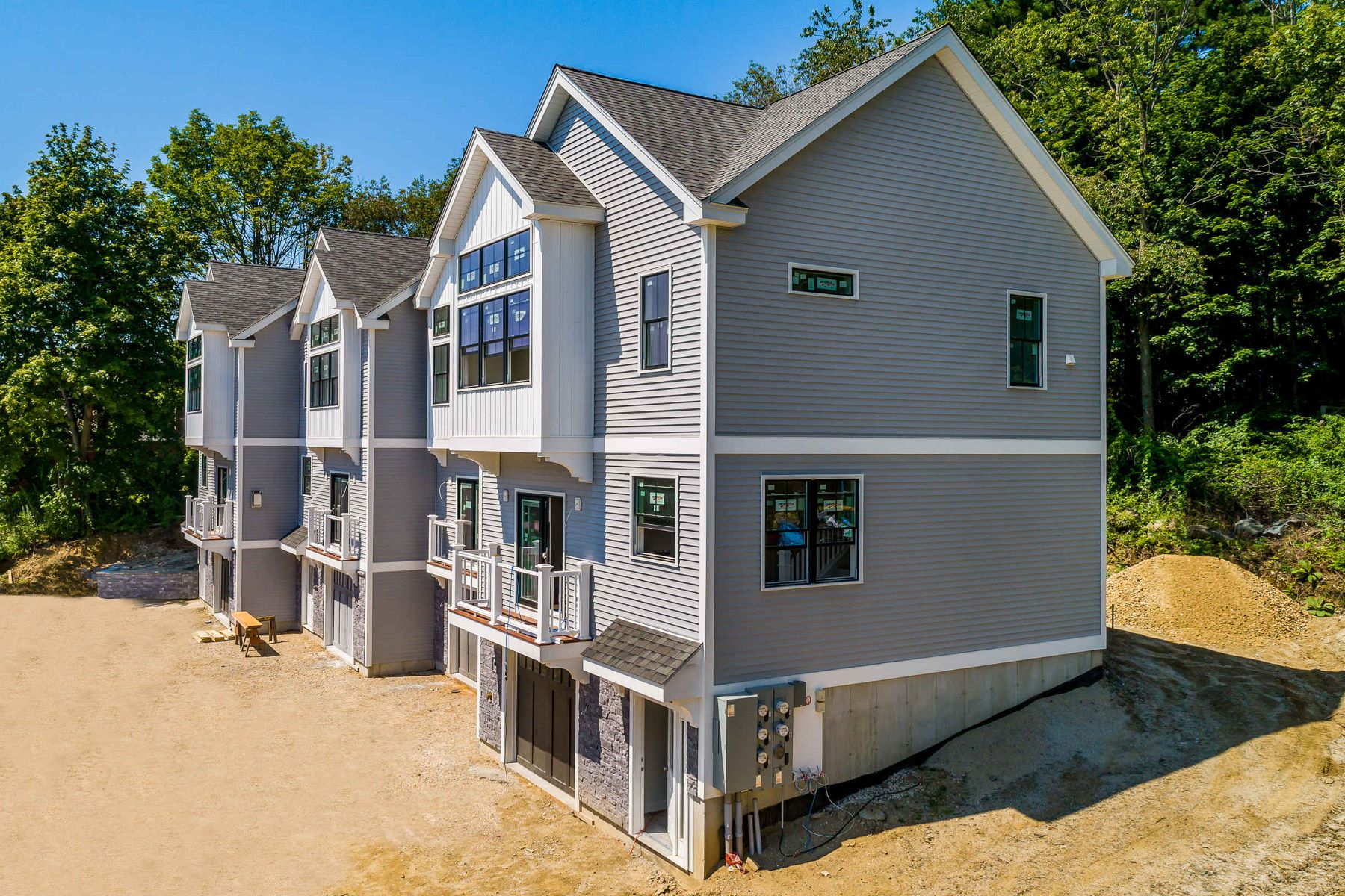 Condominiums for Sale at Newly Constructed Condominium in Kittery Foreside 12 Bridge Street Unit 1 Kittery, Maine 03904 United States
