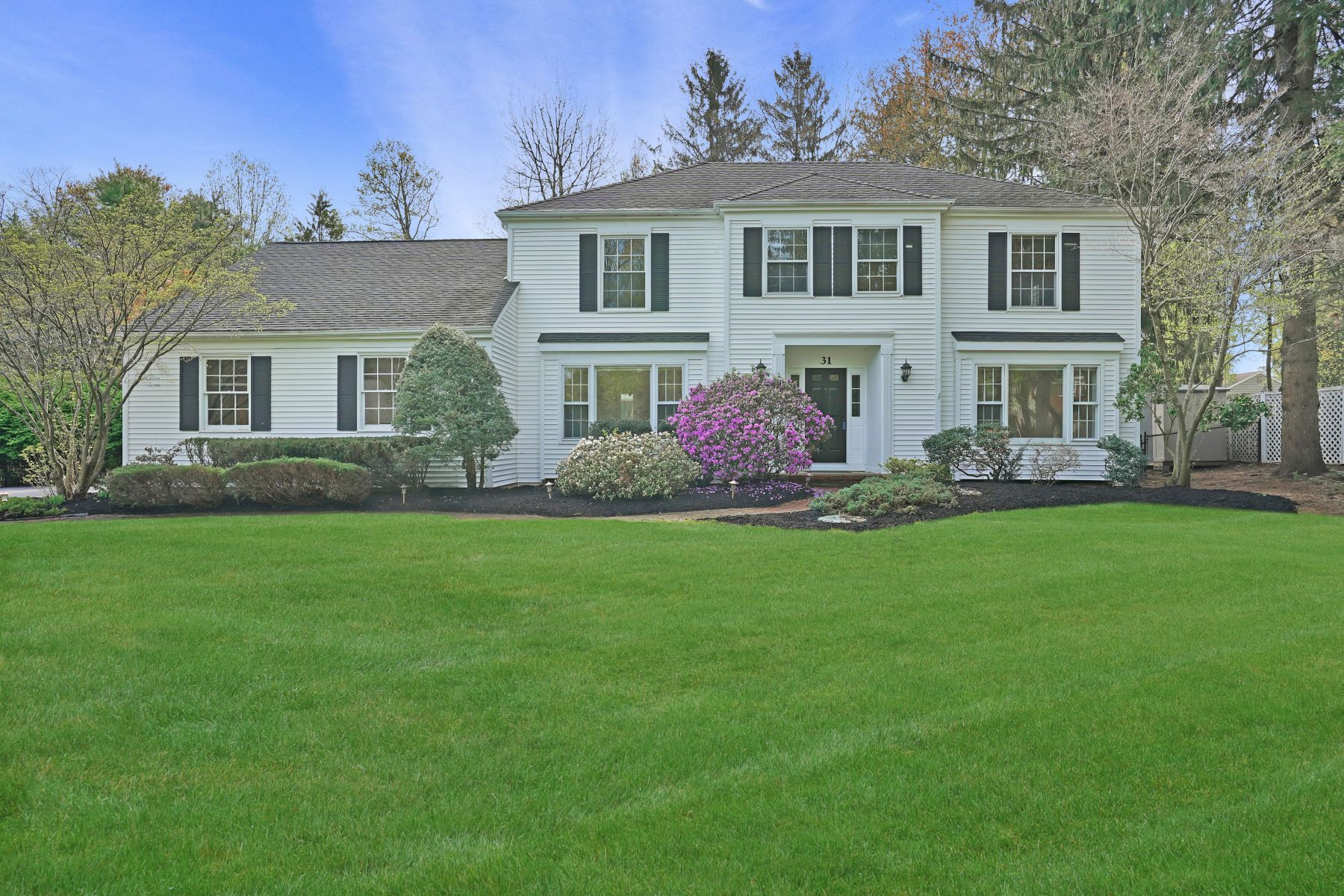 Single Family Homes for Sale at Renovated Colonial 31 Wilkinson Road Randolph, New Jersey 07869 United States