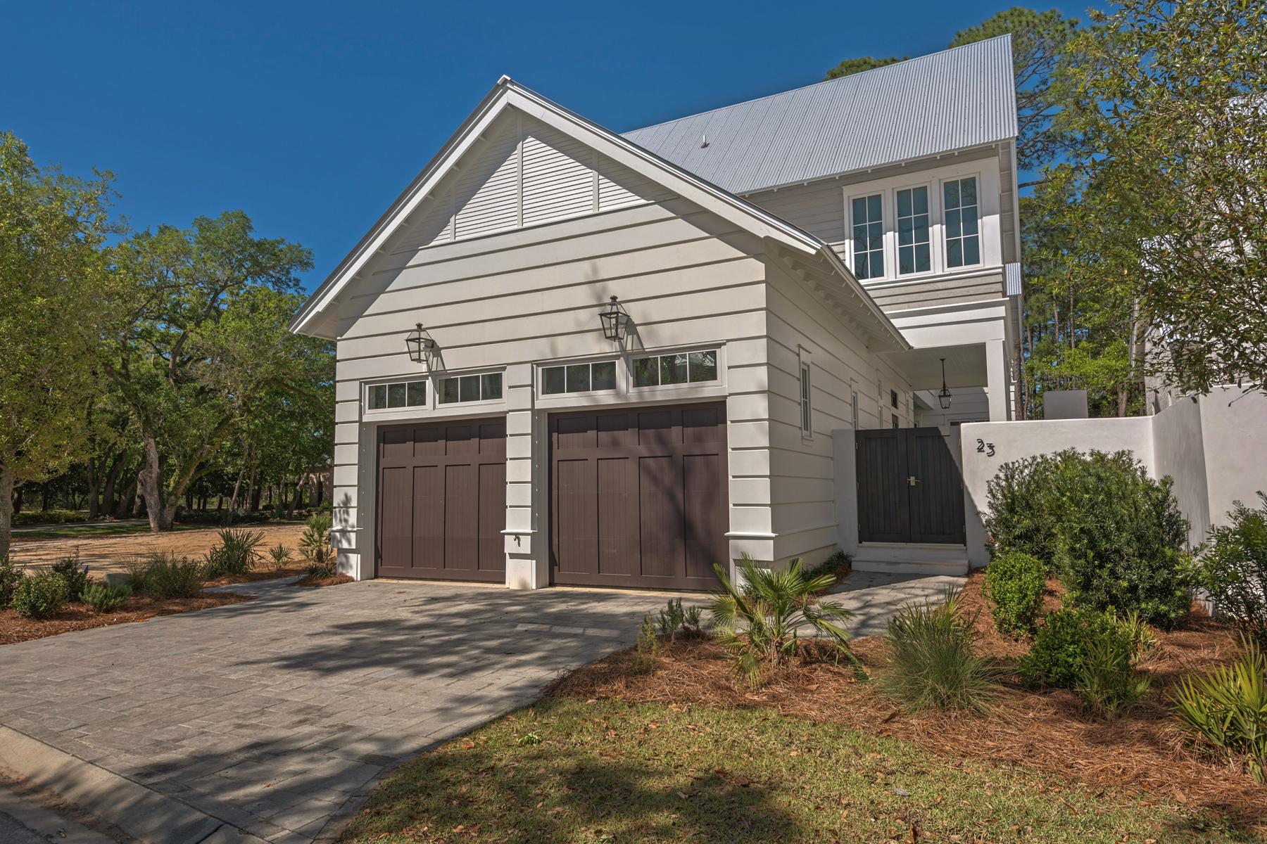 Maison unifamiliale pour l Vente à NEW CONSTRUCTION HOME IN PREMIER BOATING AND WATERFRONT COMMUNITY 23 Bennett Santa Rosa Beach, Florida, 32459 États-Unis