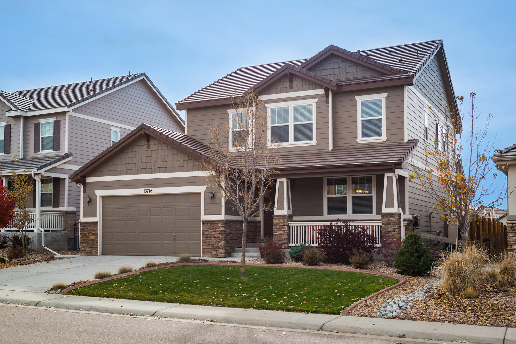 Single Family Home for Active at Beautiful Turnkey Meridian Village Richmond American Home 13716 Ashgrove Cir Parker, Colorado 80134 United States