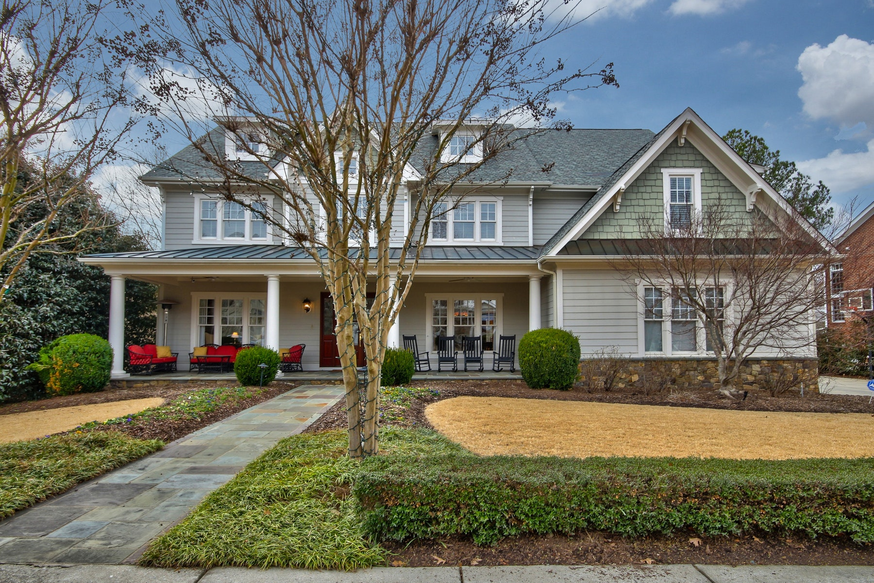 Single Family Home for Sale at Golf Course Home in Meadowmont 1148 Pinehurst Drive Chapel Hill, North Carolina 27517 United States