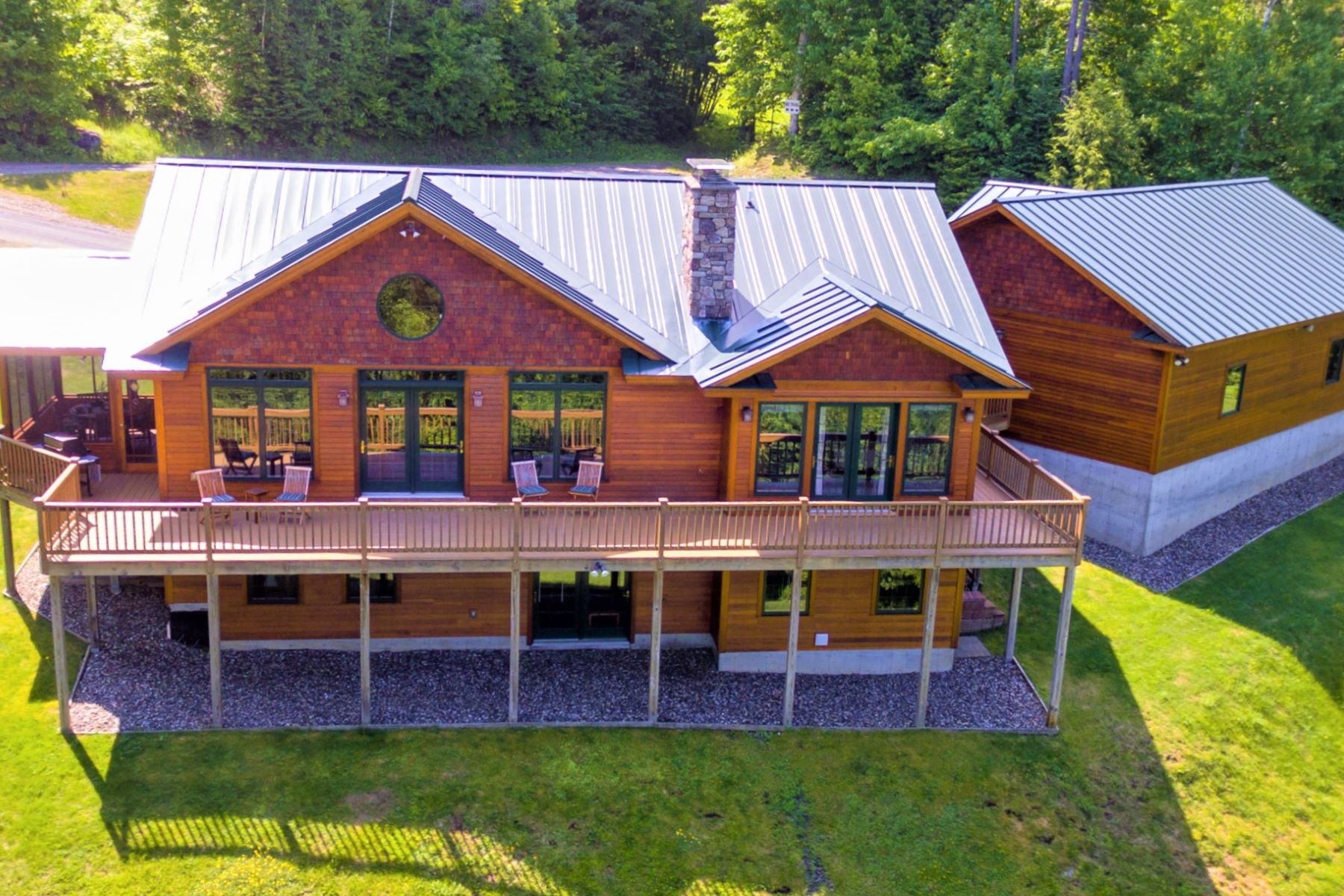 Single Family Homes for Sale at Trailside at Burke Mountain Resort 86 Woods Trl Burke, Vermont 05832 United States