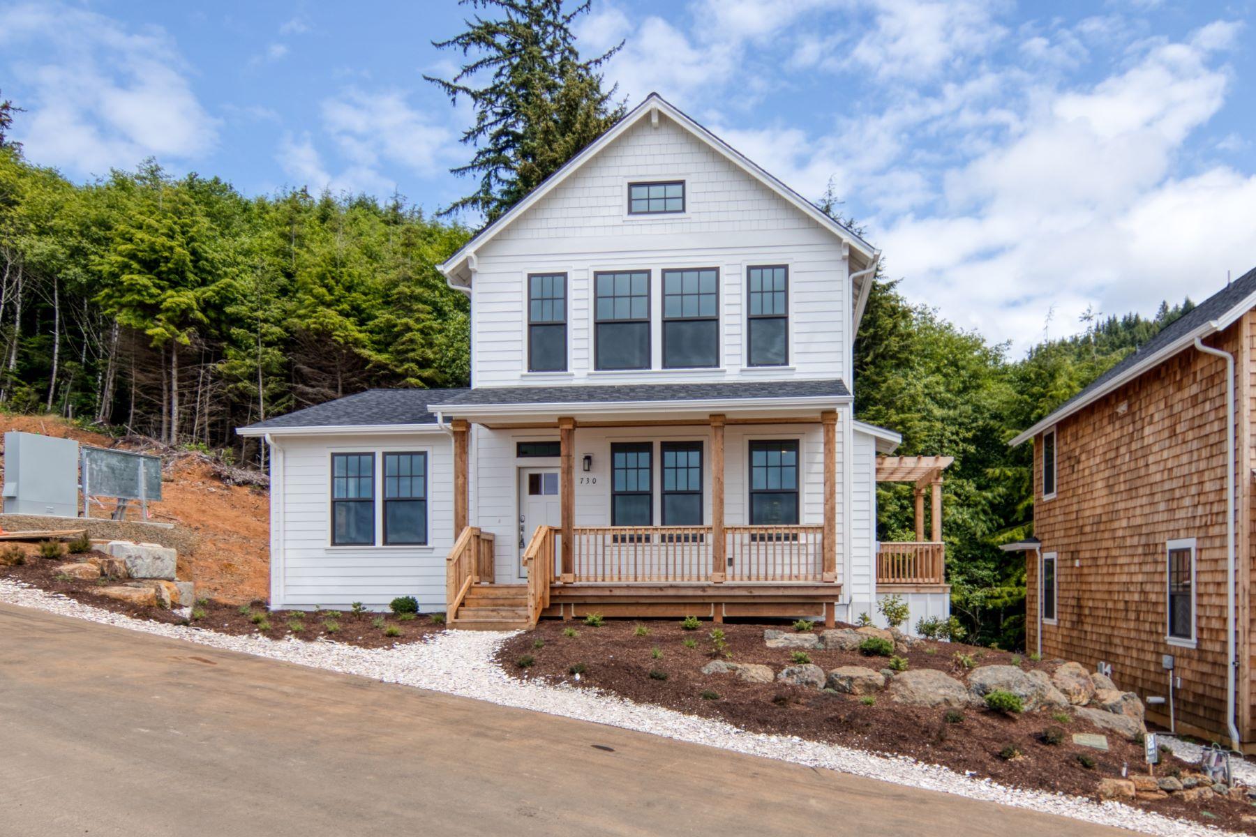 Single Family Homes pour l Vente à Depoe Bay, Oregon 97341 États-Unis
