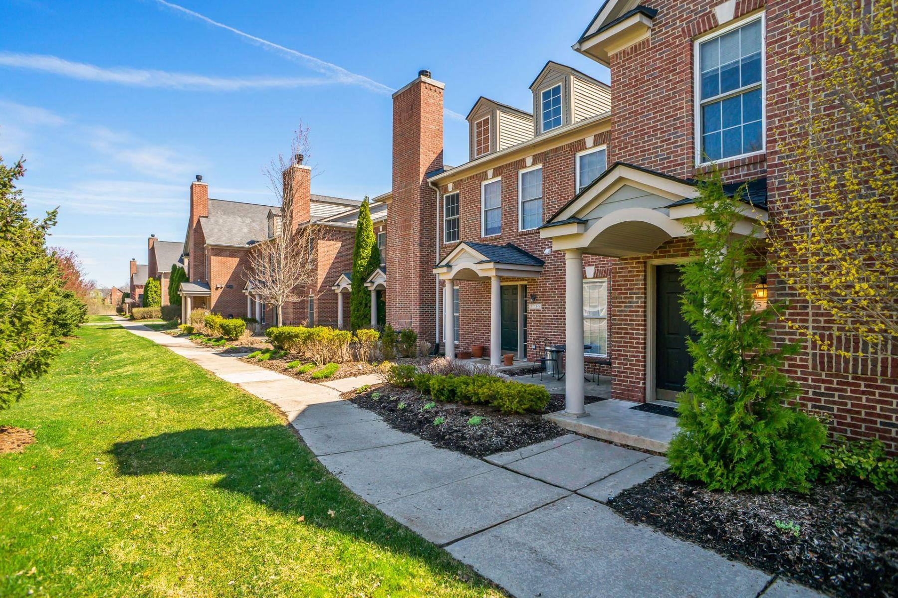 Condominiums for Sale at Pittsfield 5738 Hampshire Lane Ypsilanti, Michigan 48197 United States