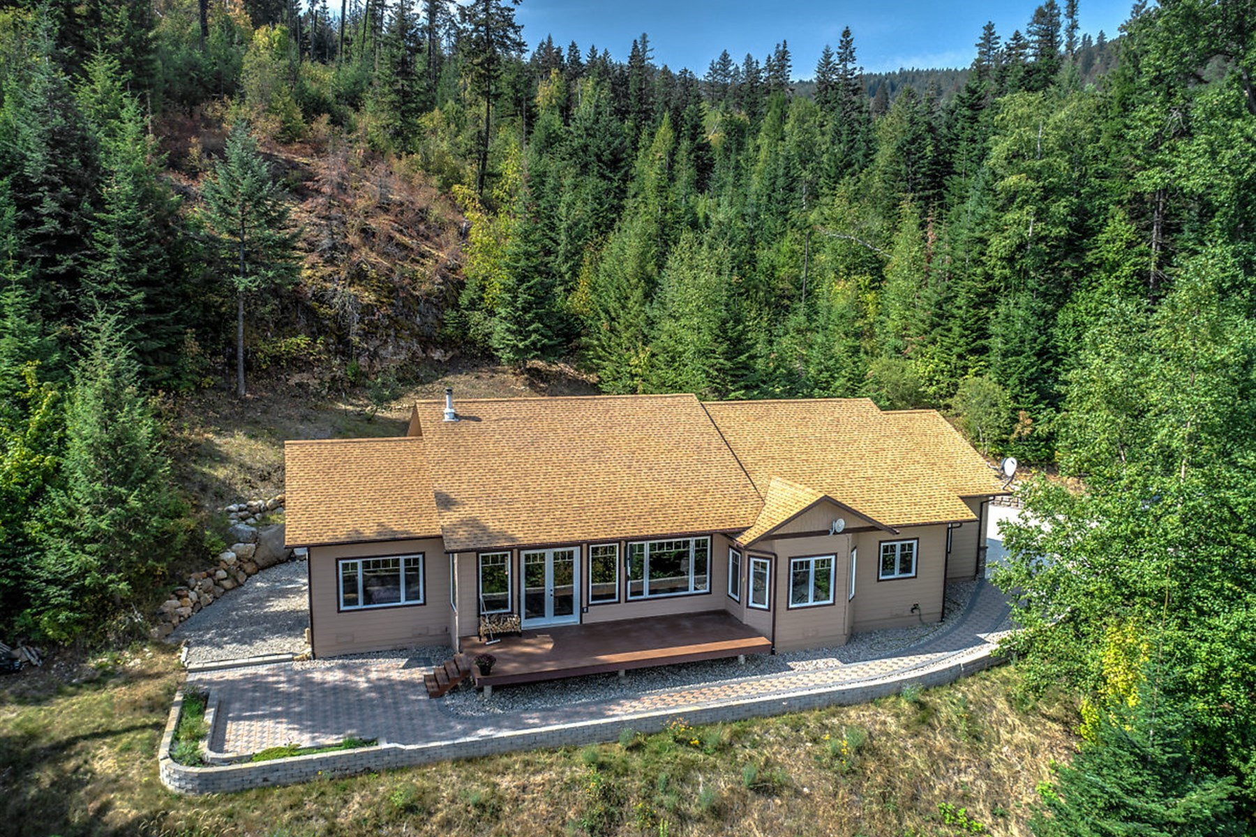 Single Family Home for Active at Outstanding River and Mountain Views 238 Nikita Dr Priest River, Idaho 83856 United States
