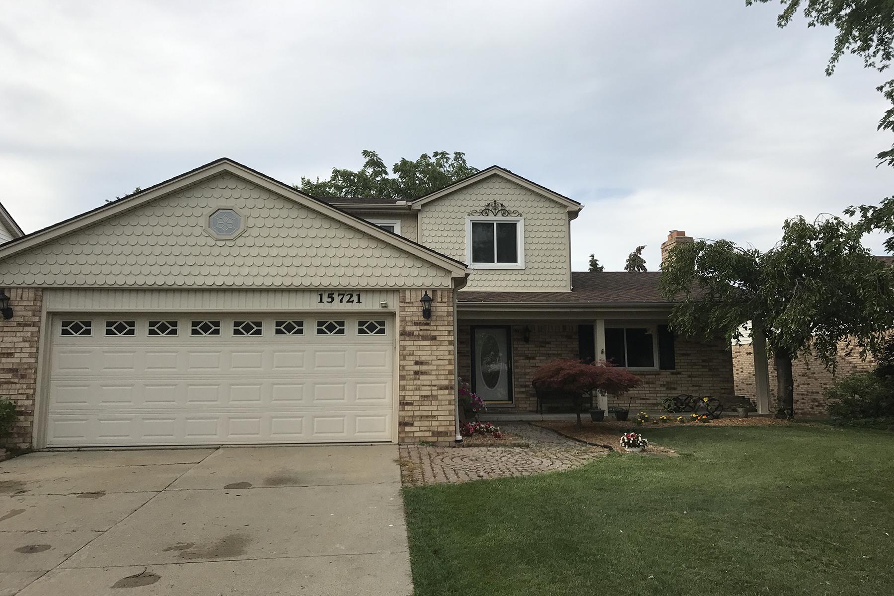 Частный односемейный дом для того Продажа на Macomb Township 15721 Winterpark Drive Macomb Township, Мичиган, 48044 Соединенные Штаты