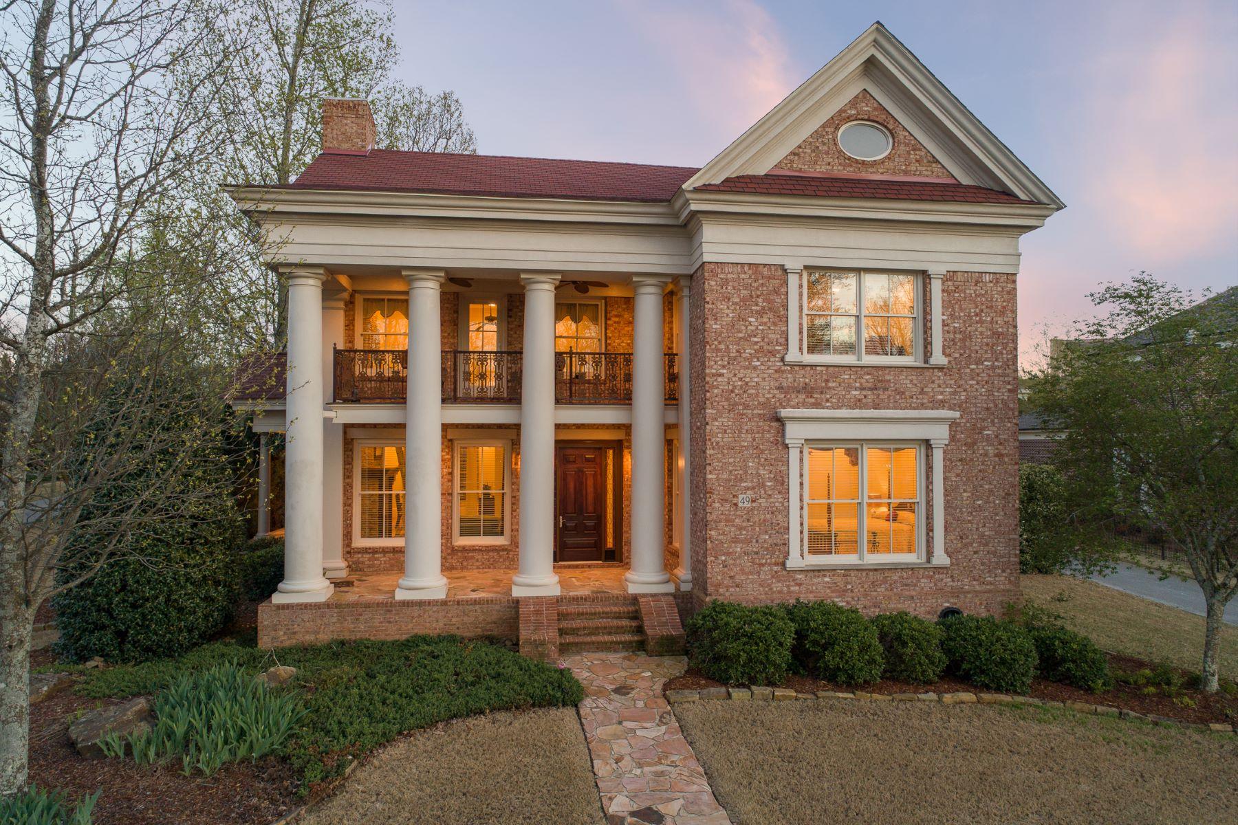 Single Family Homes 为 销售 在 49 Castle Down Drive Huntsville, 阿拉巴马州 35802 美国