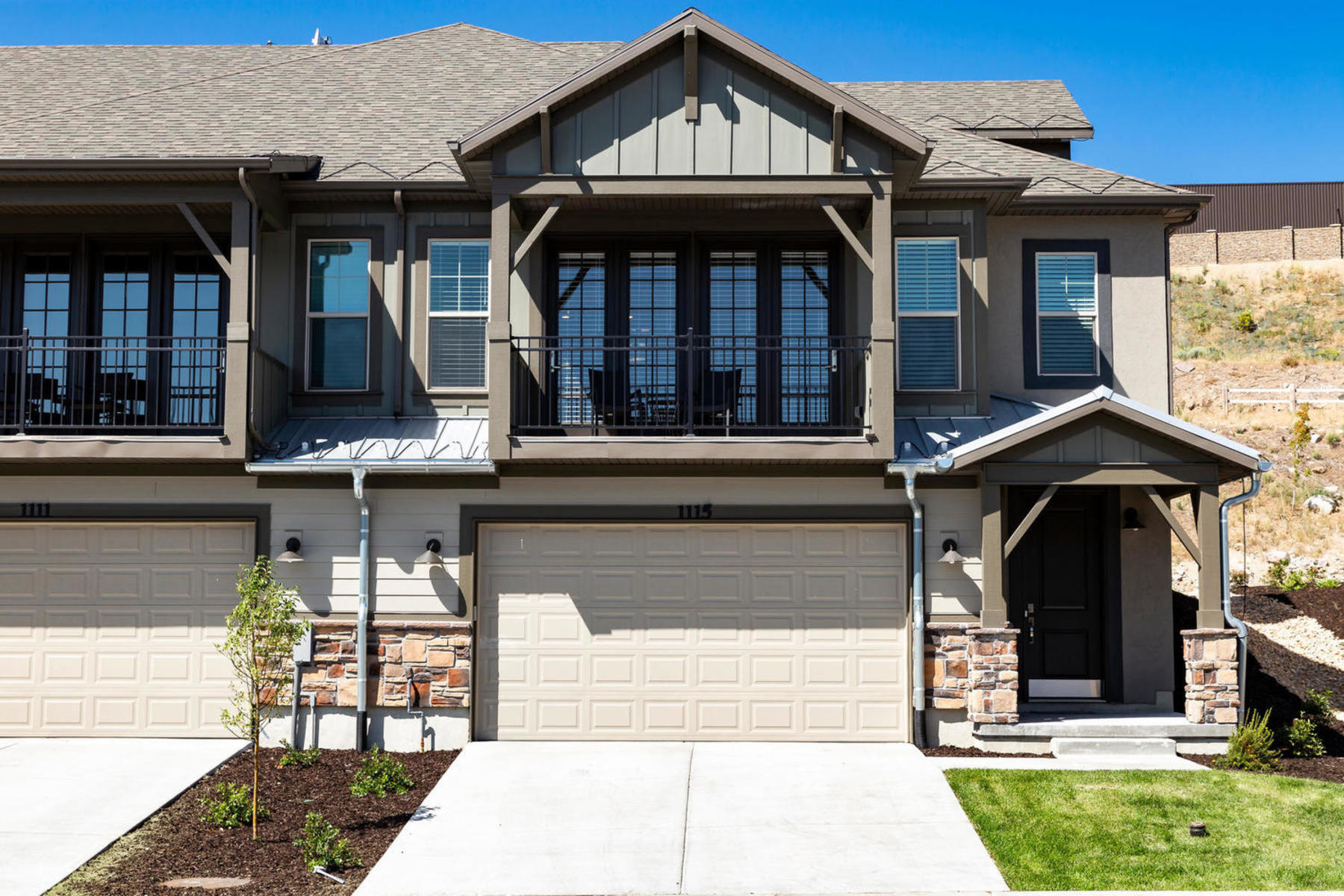 townhouses for Active at Brand New Beautiful Townhome Just 6 Minutes to Historic Park City 1067 W Wasatch Springs Rd #O1 Heber, Utah 84032 United States