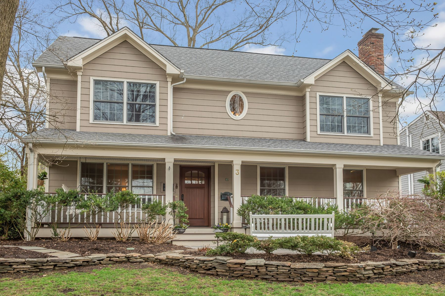Single Family Homes for Sale at Absolutely Charming Colonial 3 Yarmouth Road Chatham Twp, New Jersey 07928 United States
