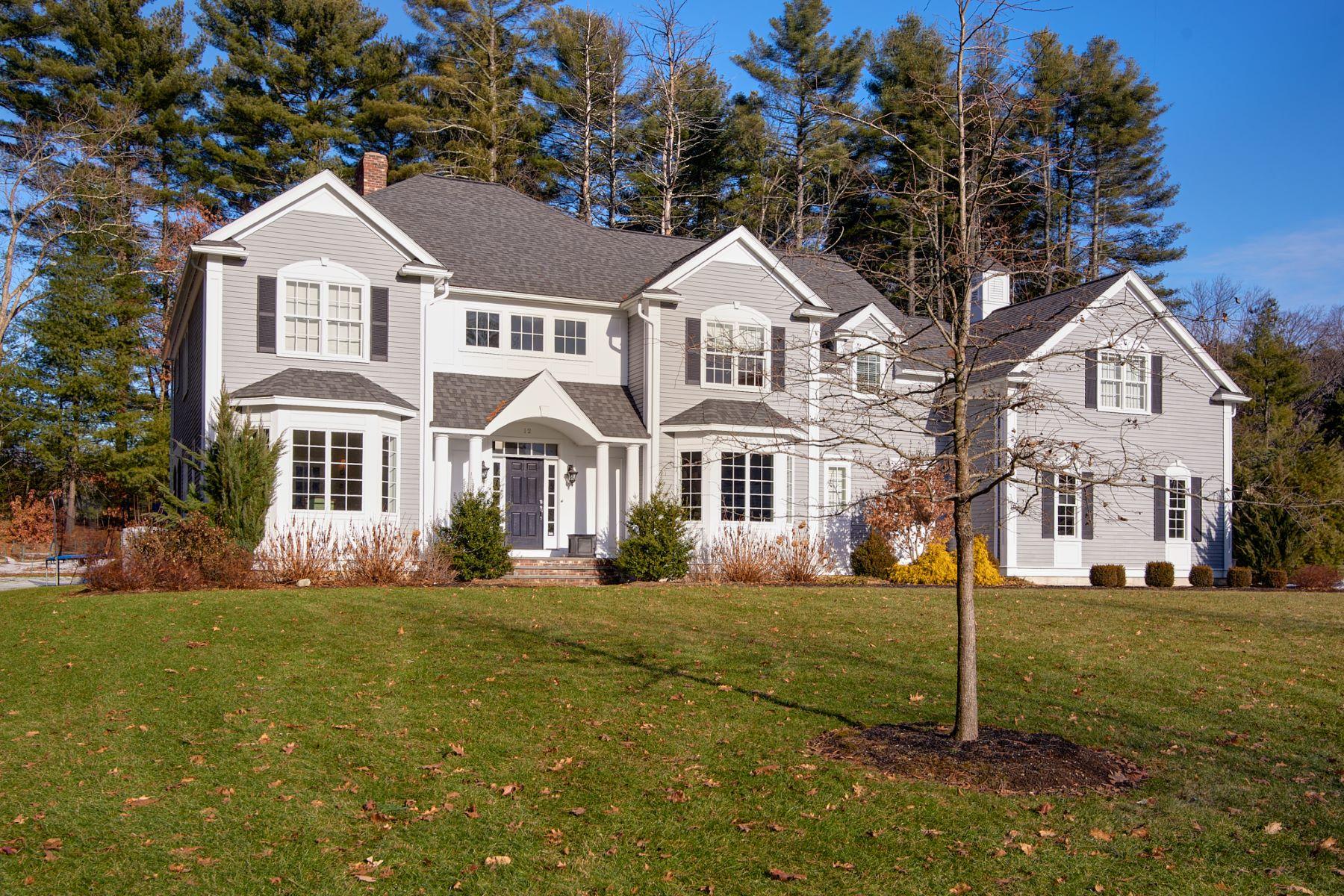 Single Family Homes 为 销售 在 12 Huckleberry Lane 萨德伯里, 马萨诸塞州 01776 美国