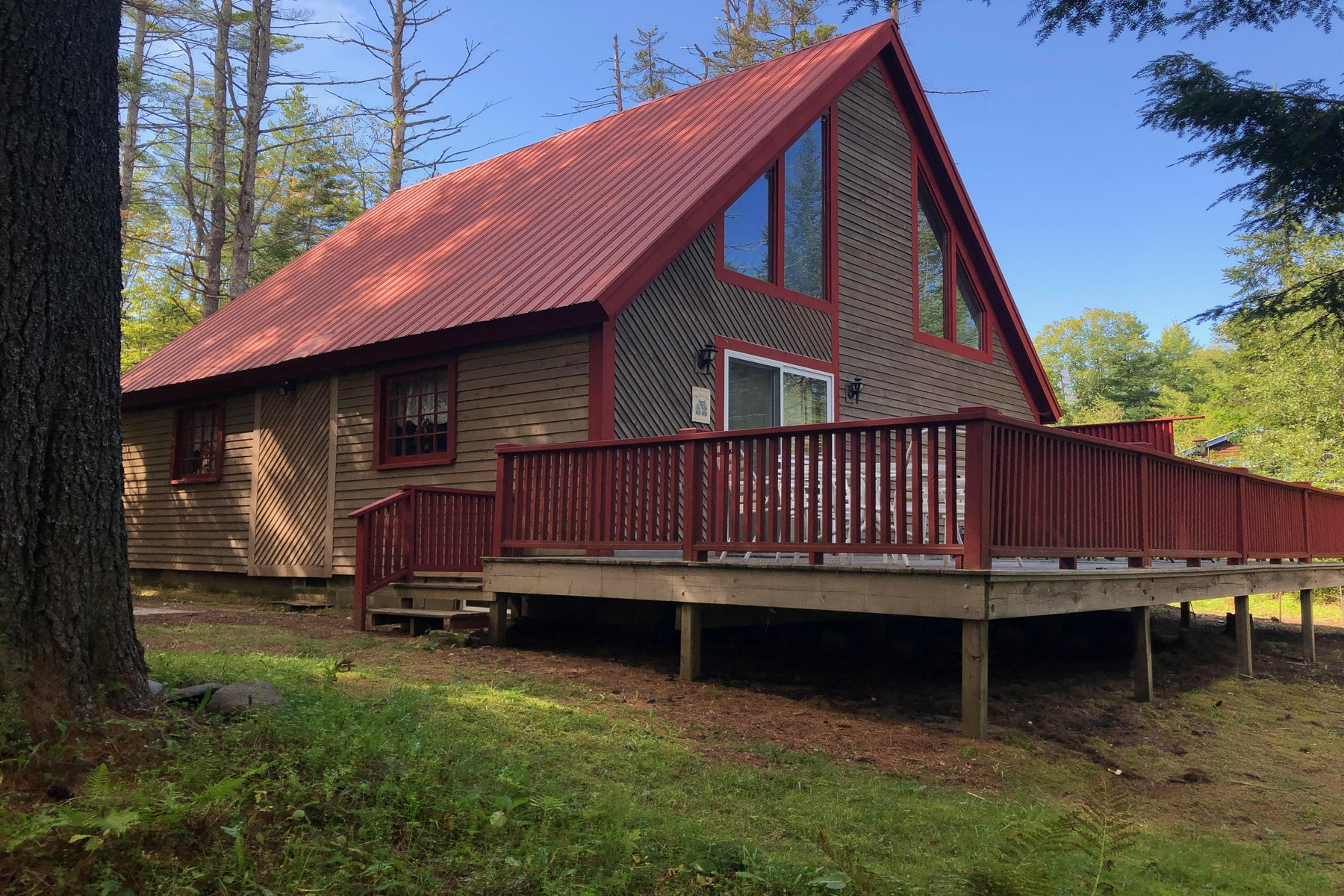 Single Family Homes for Sale at Simply Vermont - Cozy Country 1077 Anderson Rd Peru, Vermont 05152 United States