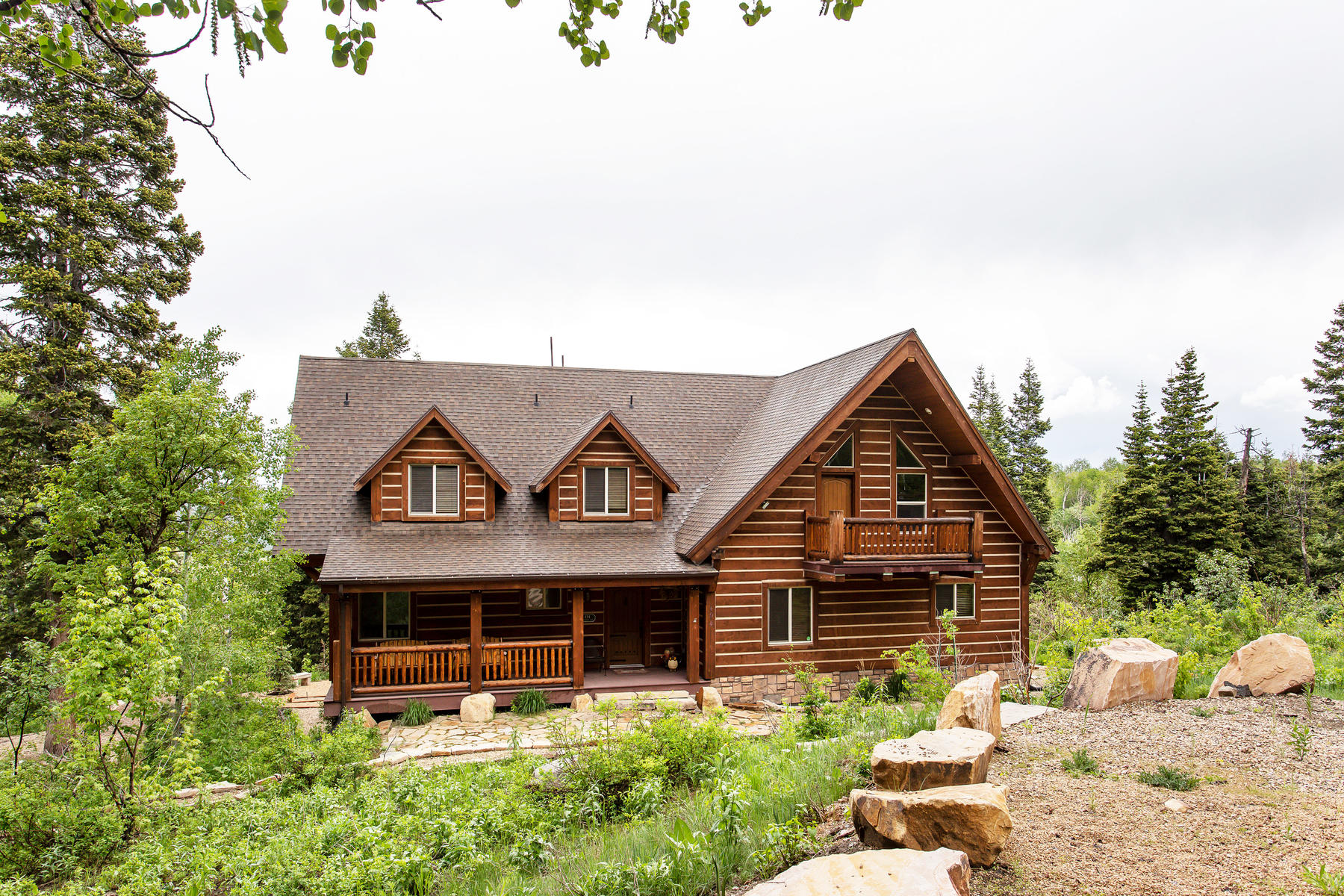Single Family Homes for Active at Your Mountain Lodge Awaits 494 W Forgotten Lane Wanship, Utah 84017 United States