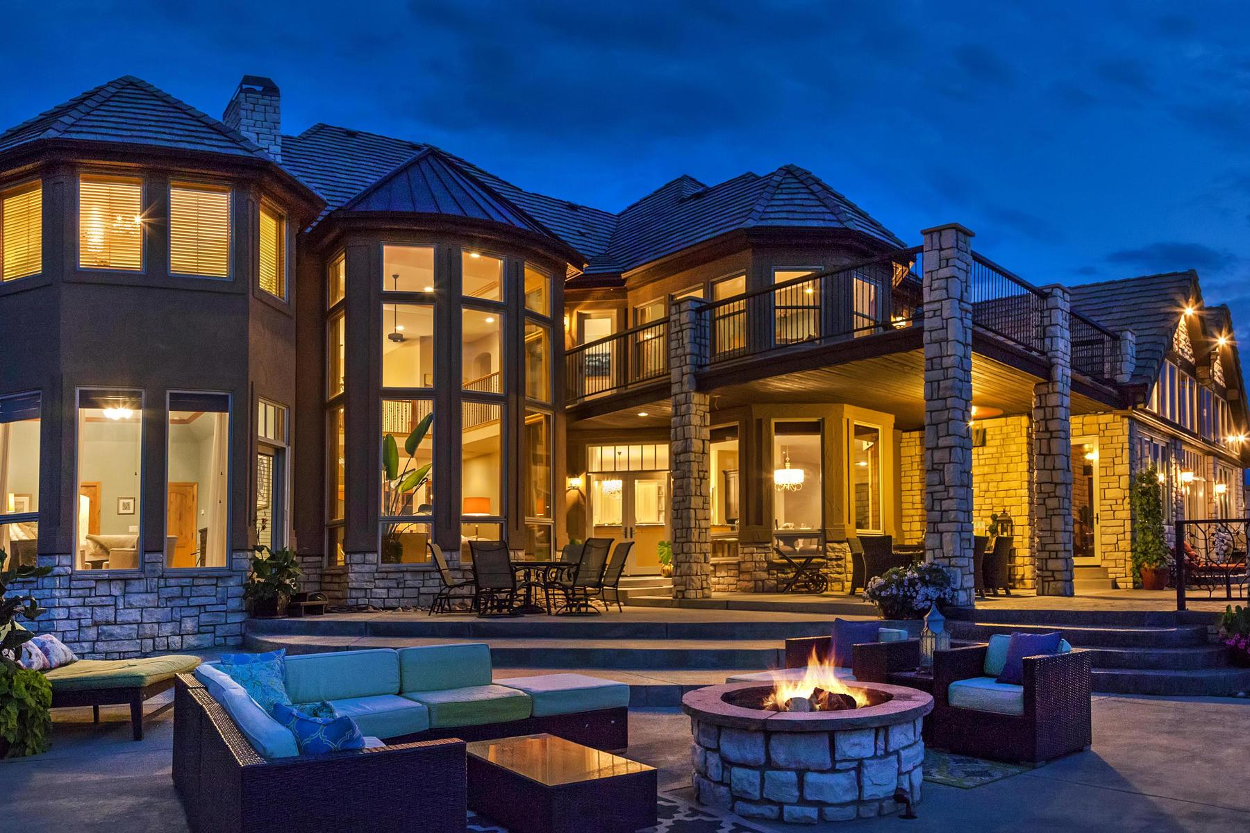 Single Family Home for Sale at Private Lakefront Estate 9841 Shoreline Dr Longmont, Colorado, 80504 United States
