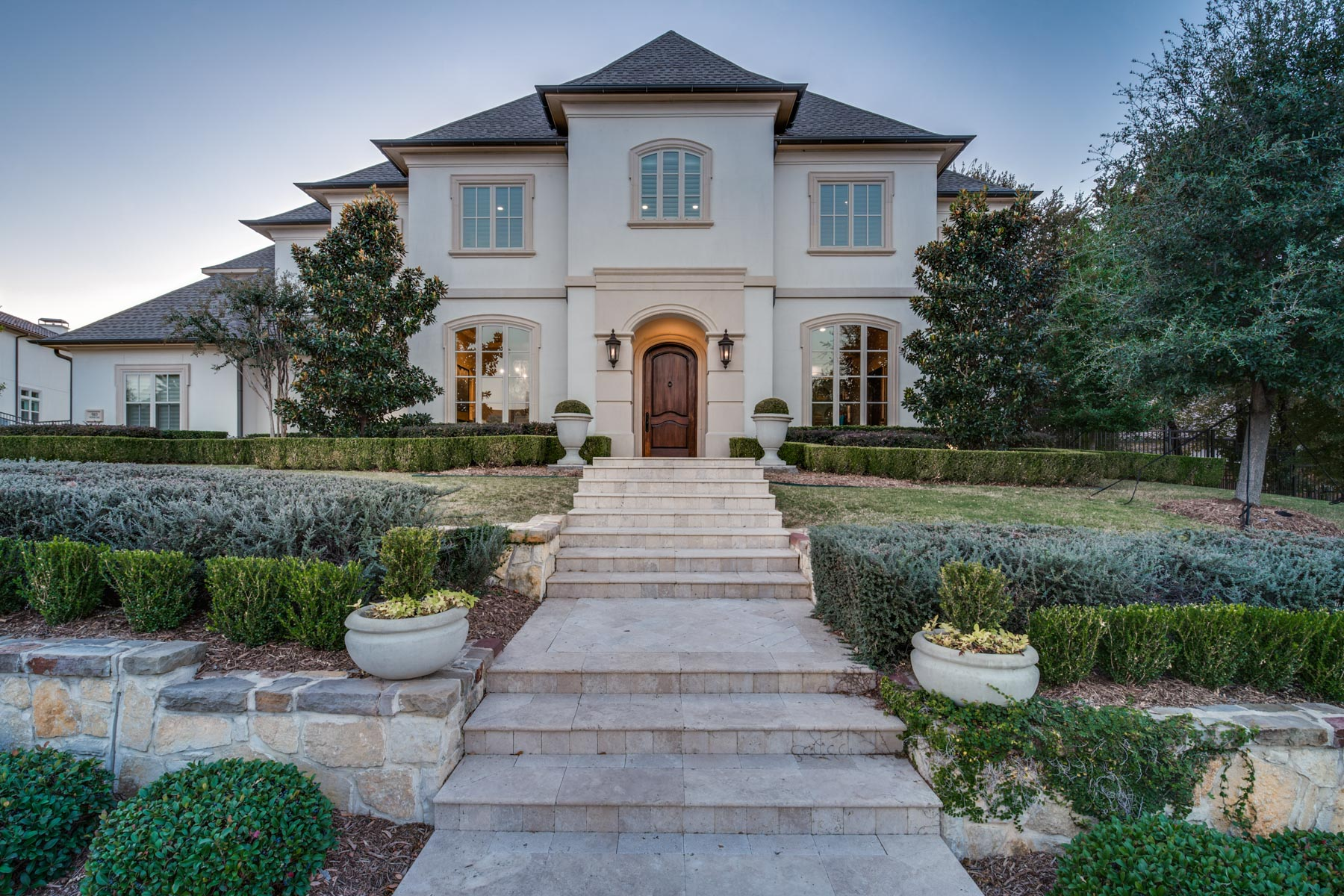 Single Family Home for Sale at Allen's Only Exclusive Gated Community 503 Woodlake Drive Allen, Texas 75013 United States