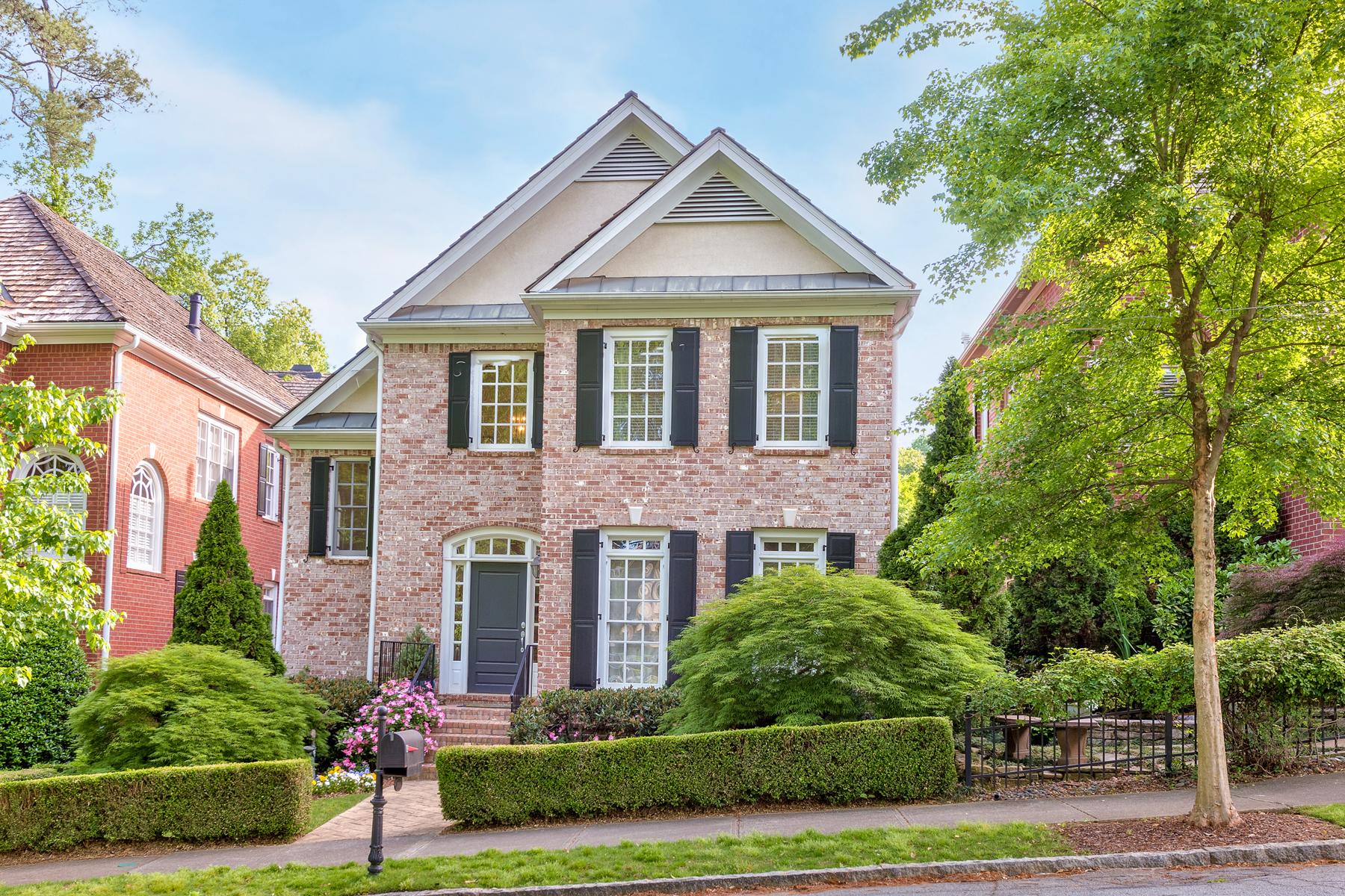Single Family Home for Sale at Elegant Buckhead Living 704 Longleaf Dr Atlanta, Georgia, 30342 United States