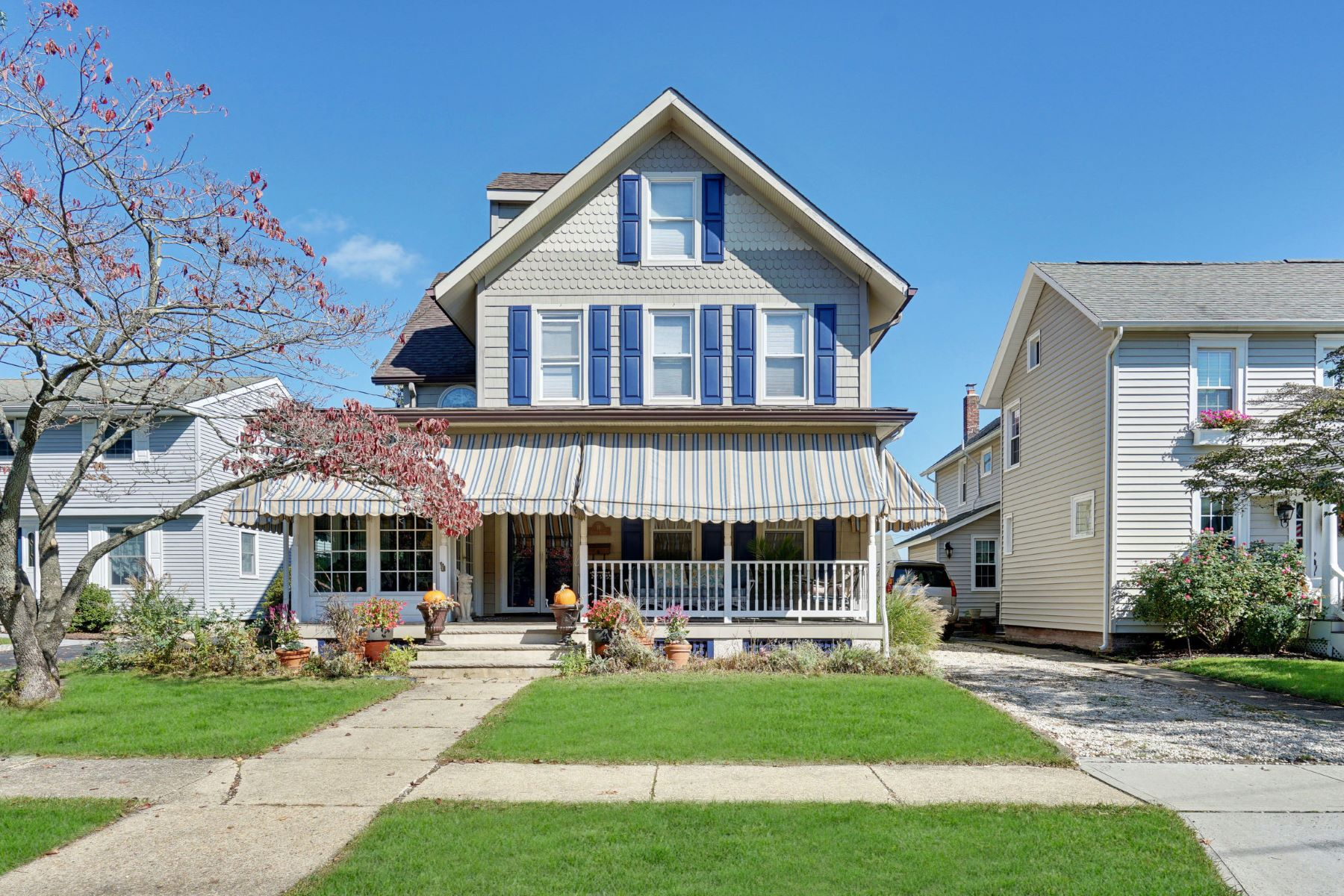 Single Family Homes for Active at Classic Custom Victorian 18 Curtis Avenue Manasquan, New Jersey 08736 United States
