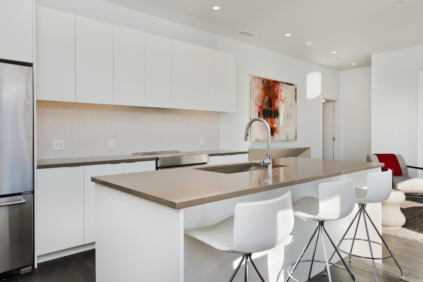 Single Family Home for Active at Recently completed new construction, move in ready and nearing sell-out. 1300 N Ogden St #202 Denver, Colorado 80218 United States