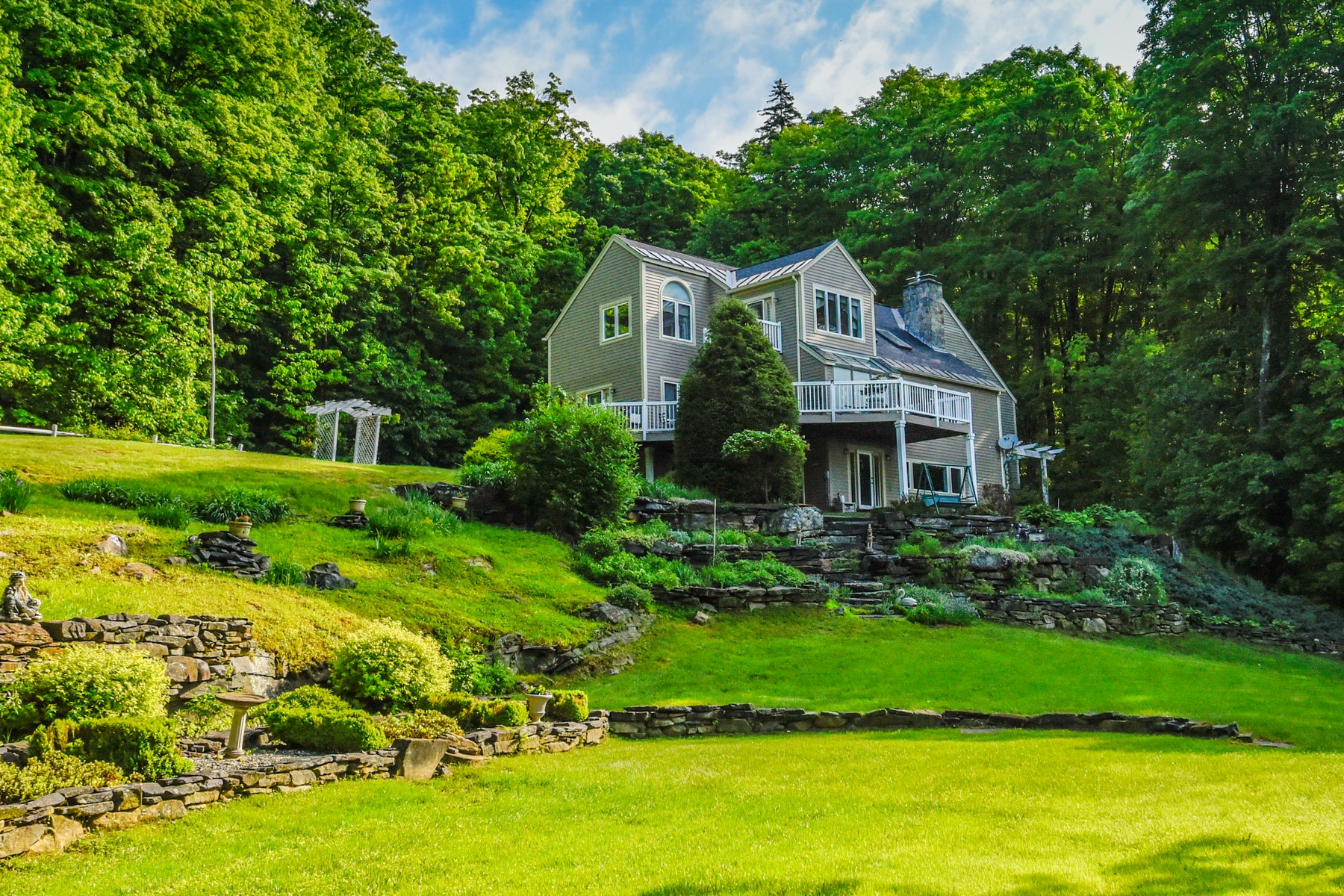 Single Family Homes for Sale at Waterfront & Privacy - 20+ Acres 268 North Ryder Pond Rd Whitingham, Vermont 05361 United States