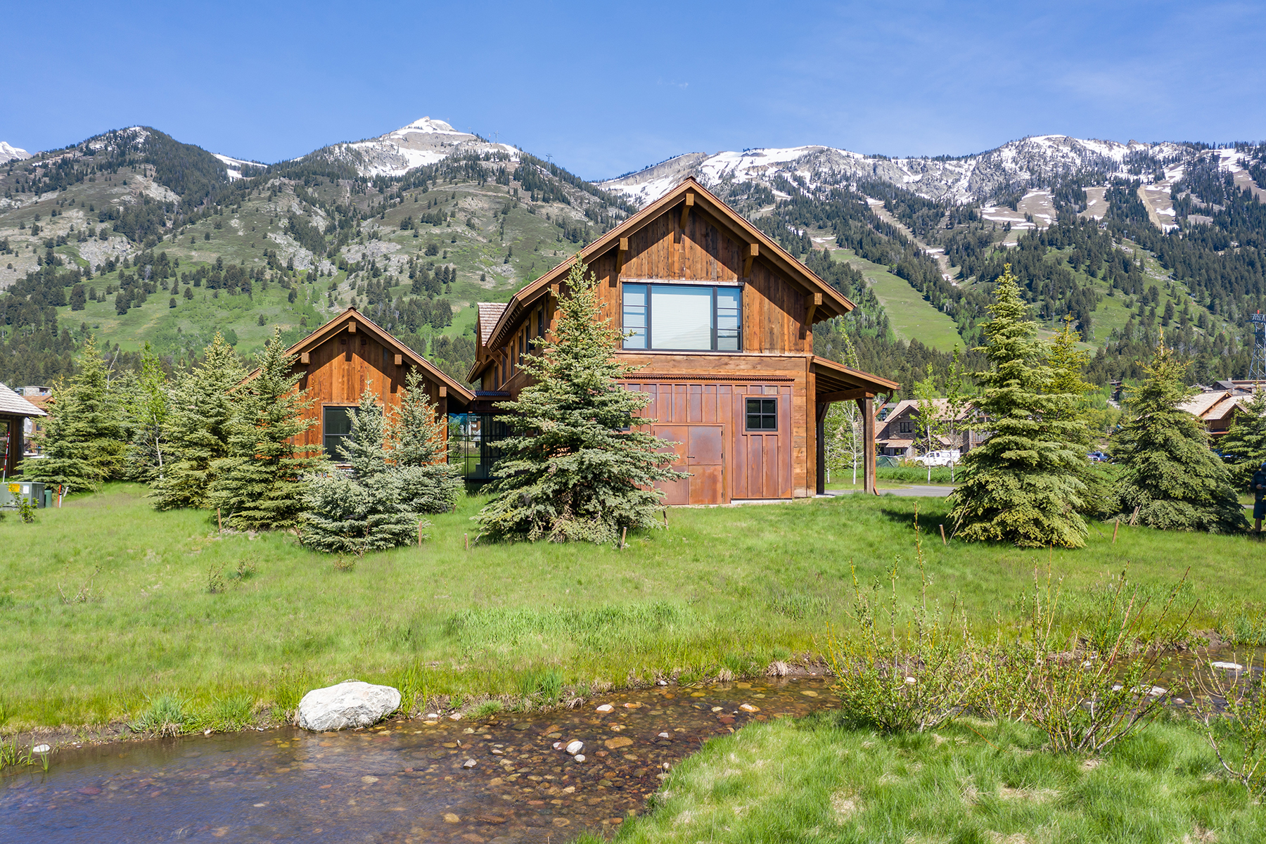 Single Family Homes للـ Sale في Custom Shooting Star Lodge 3350 Four Pines Rd., Teton Village, Wyoming 83025 United States