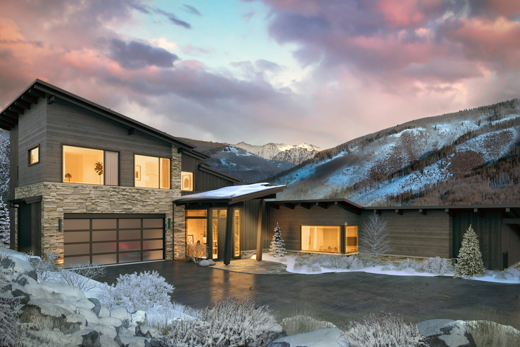 Single Family Homes for Sale at Spectacular 5-bedroom, 5.5 bathroom new construction single family home 2698 Cortina Lane Vail, Colorado 81657 United States