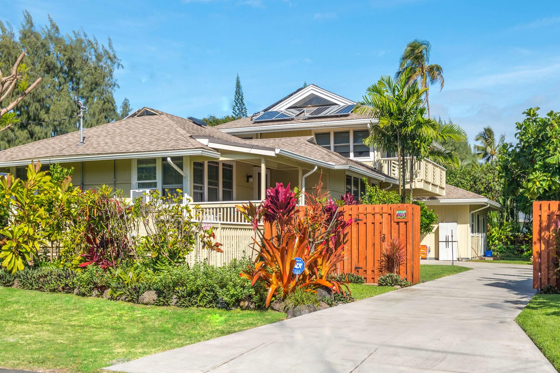 独户住宅 为 销售 在 Waimanalo Beach House 41-019 Kaulu St 坏马纳洛, 夏威夷 96795 美国