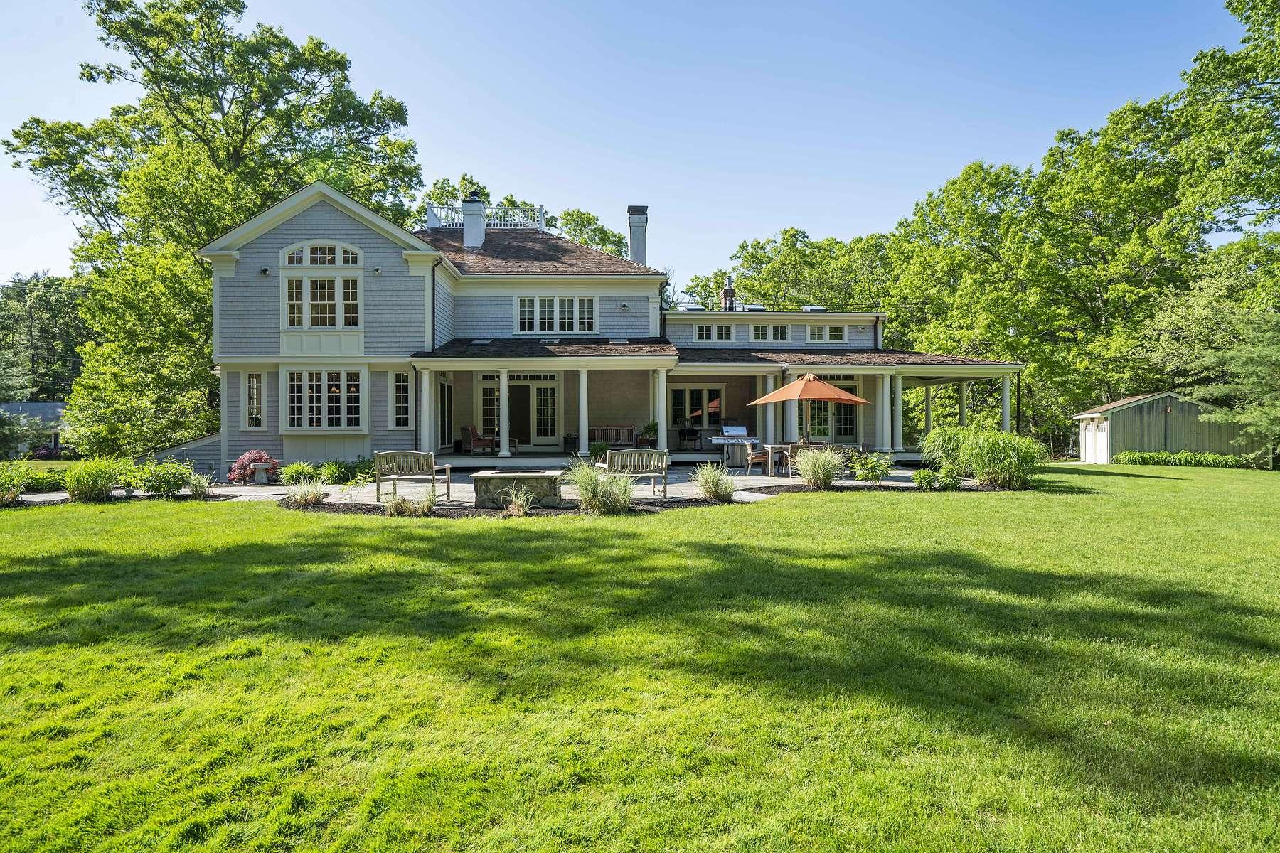 Single Family Homes por un Venta en 93 East Street Duxbury, Massachusetts 02332 Estados Unidos