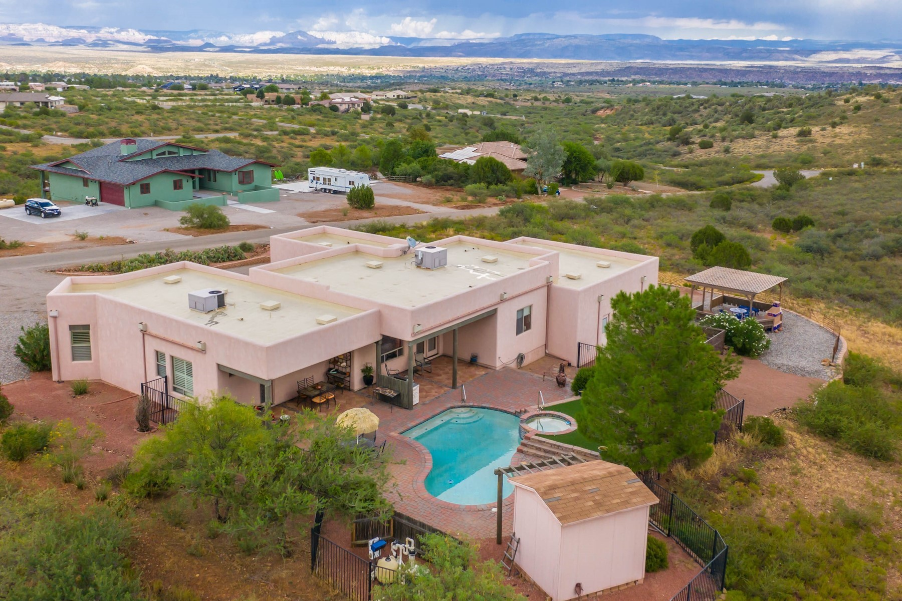 Single Family Homes for Sale at Mingus Foothills 795 E Las Conchas Drive Cottonwood, Arizona 86326 United States