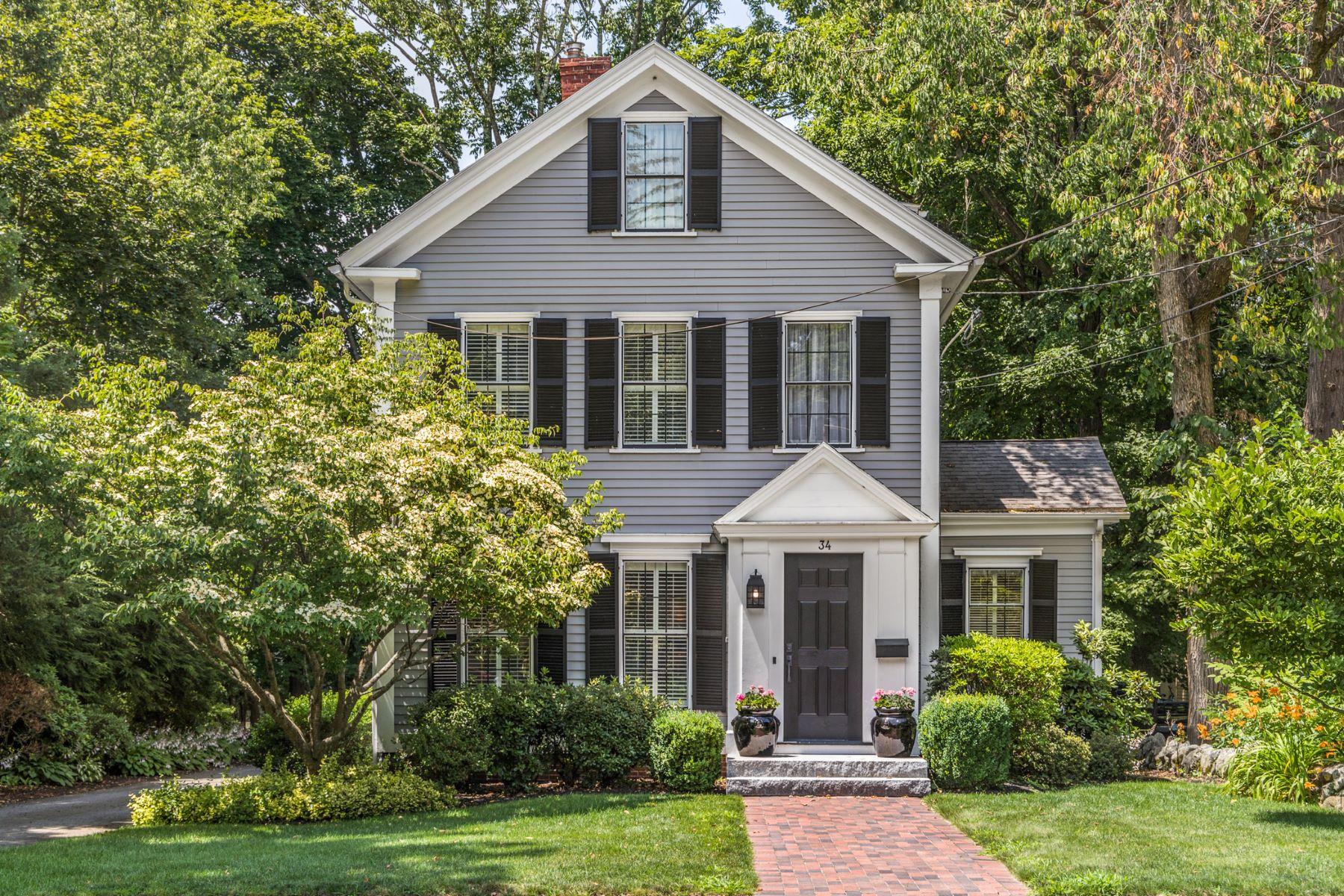 Single Family Homes for Sale at 34 Hancock Street, Lexington 34 Hancock St Lexington, Massachusetts 02420 United States