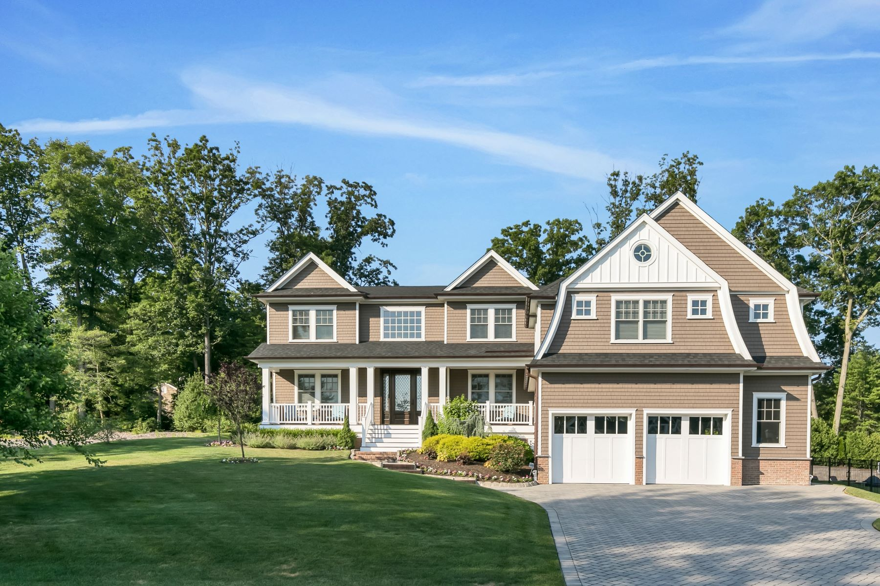 Single Family Homes for Active at Stunning Brielle Colonial 13 N Tamarack Drive Brielle, New Jersey 08730 United States