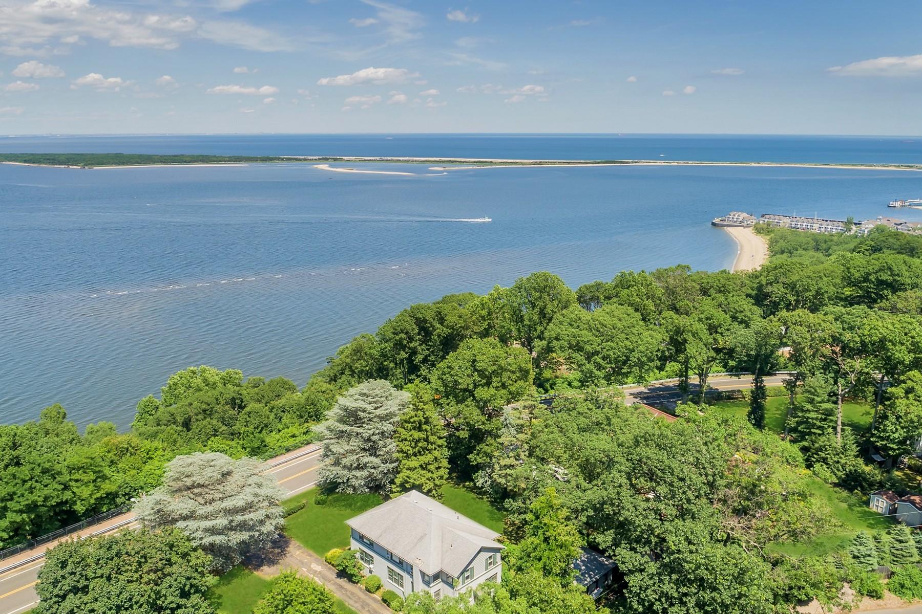 Частный односемейный дом для того Продажа на THE SKY IS THE LIMIT 307 Ocean Blvd, Atlantic Highlands, Нью-Джерси 07716 Соединенные Штаты