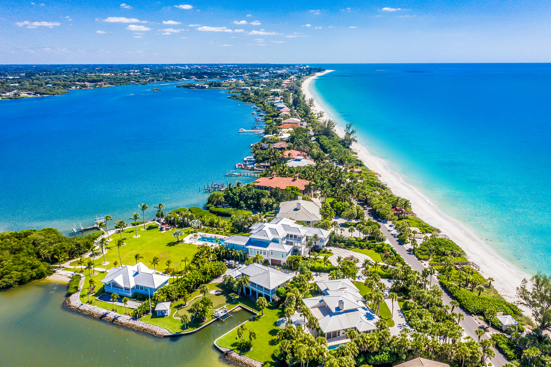 Single Family Homes for Sale at 1906 Casey Key Rd, Nokomis, Florida 34275 United States