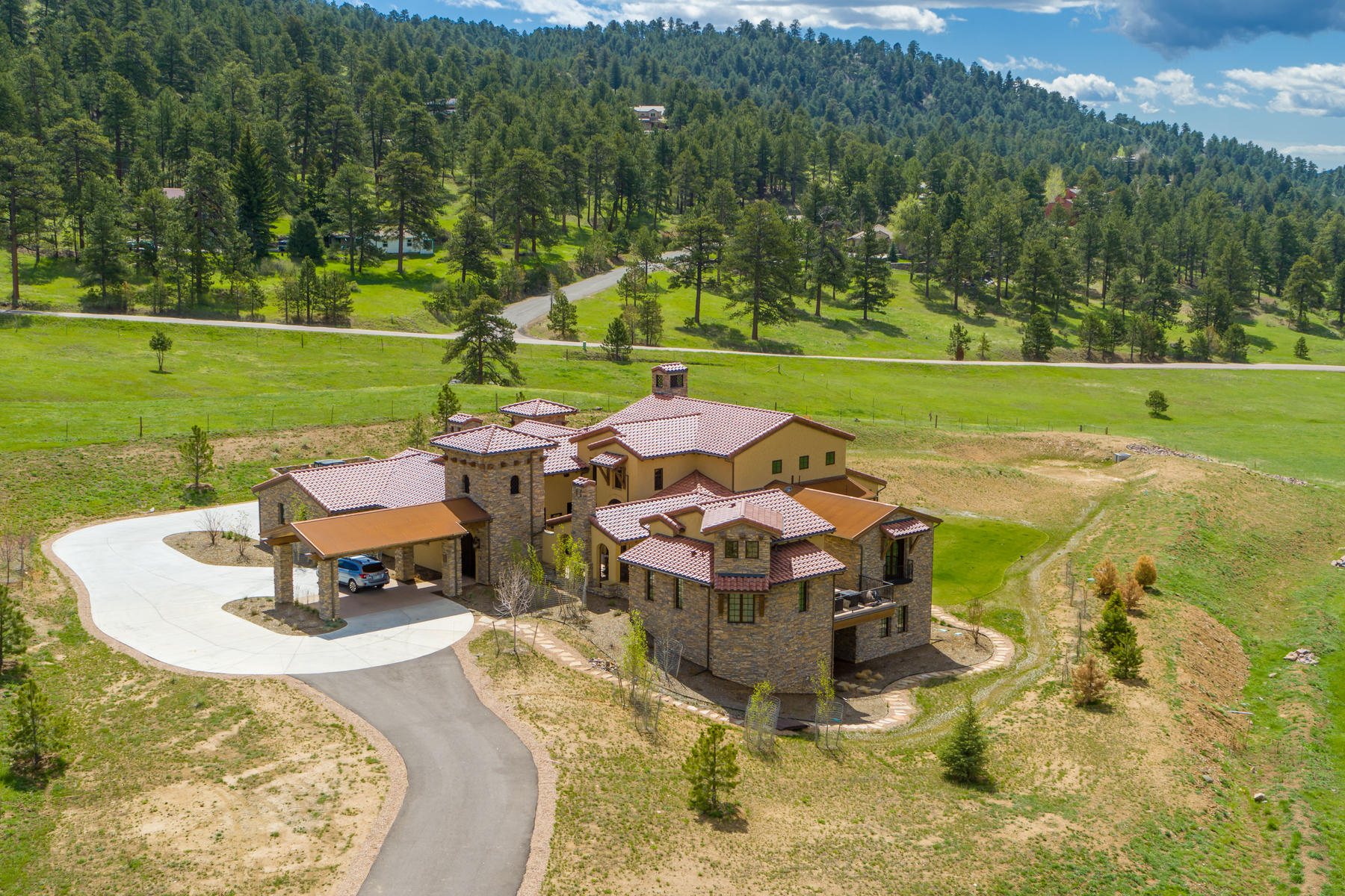 Single Family Homes for Sale at This 5-acre property is an experience that is unparalleled throughout the mounta 484 Spring Ranch Dr Golden, Colorado 80401 United States