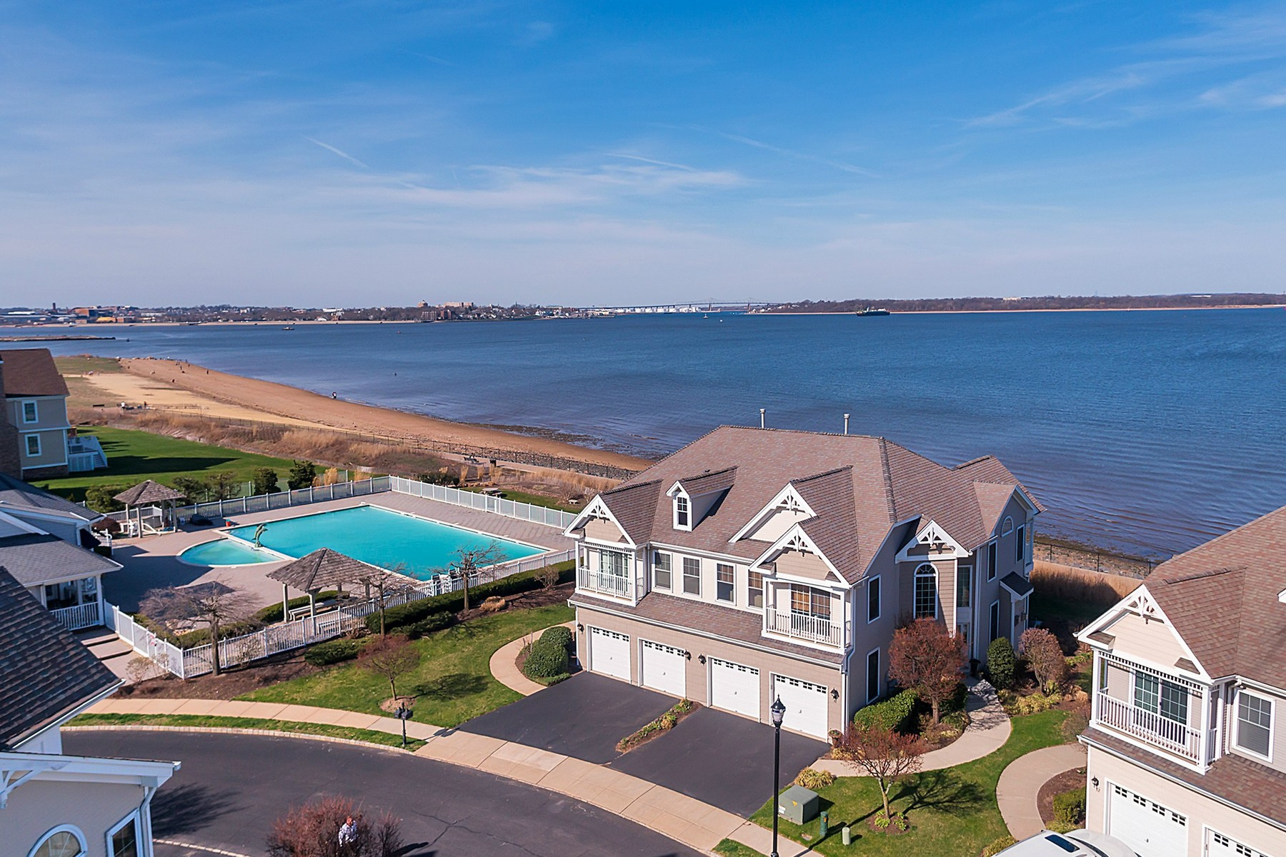 Single Family Home for Sale at Premier Waterfront in Lighthouse Bay 30 S Shore Drive South Amboy, New Jersey 08879 United States