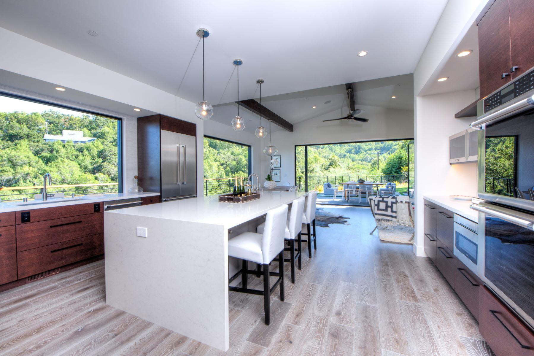 Maison unifamiliale pour l Vente à Brand New Construction 476 Laurel Avenue San Anselmo, Californie 94960 États-Unis