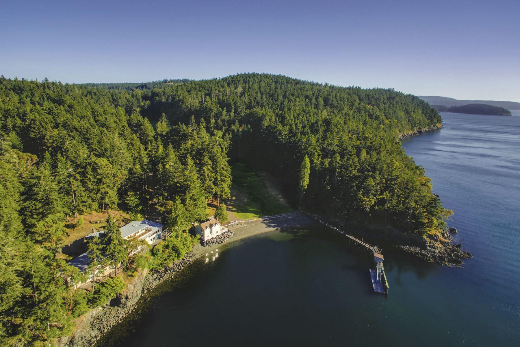 独户住宅 为 销售 在 Cormorant Bay Seascape 945 Cormorant Bay Road Orcas, 华盛顿州, 98245 美国