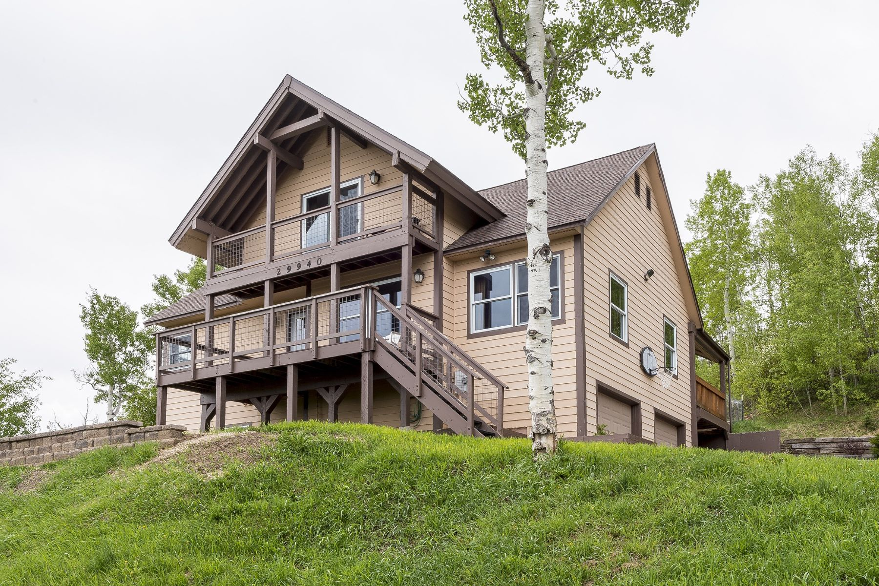 Single Family Home for Sale at Home with Lake Views 29940 Rock Point Trail Oak Creek, Colorado, OAK C United States