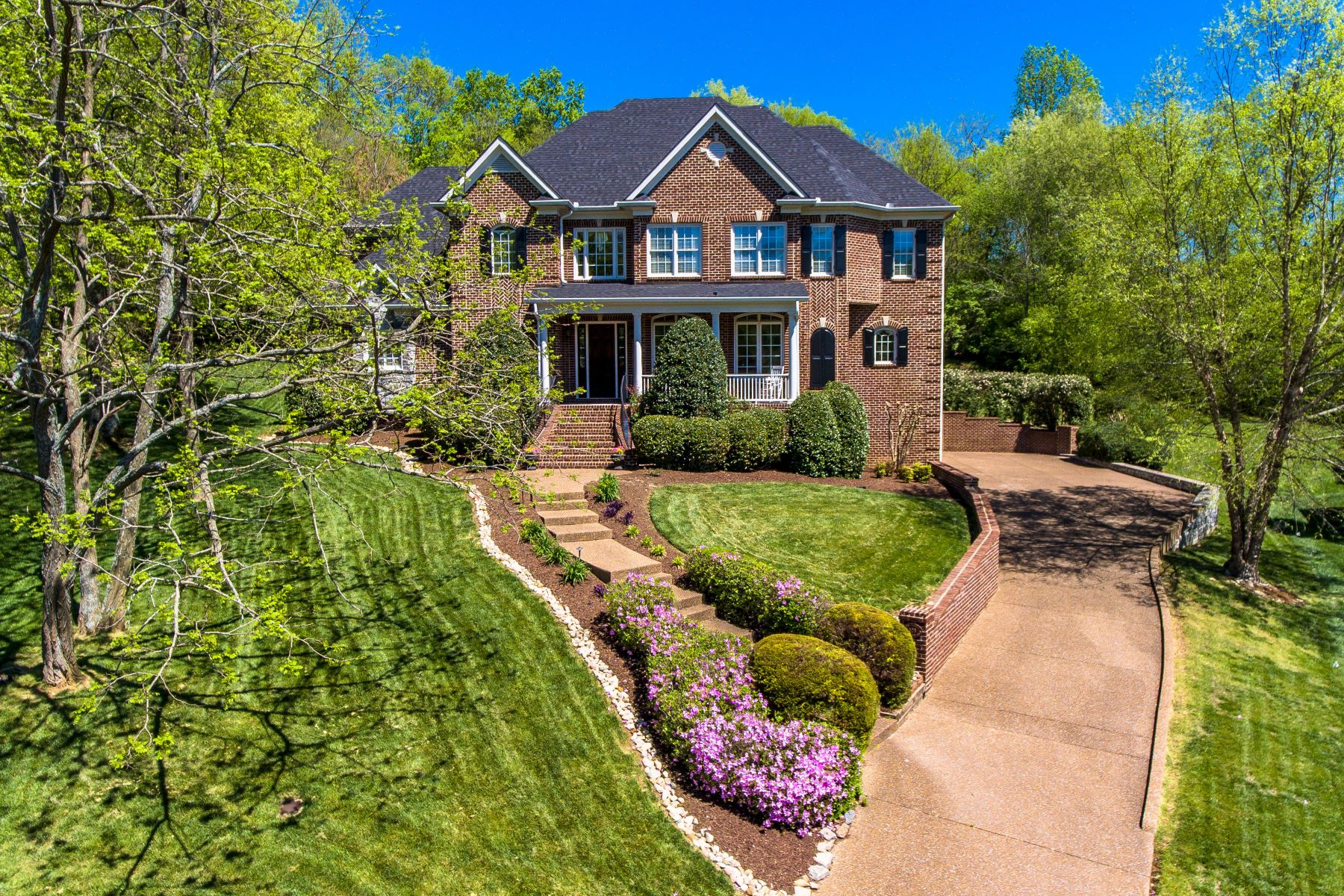 Single Family Home for Sale at Custom Built with Incredible Basement 808 Wonderland Court Franklin, Tennessee 37069 United States
