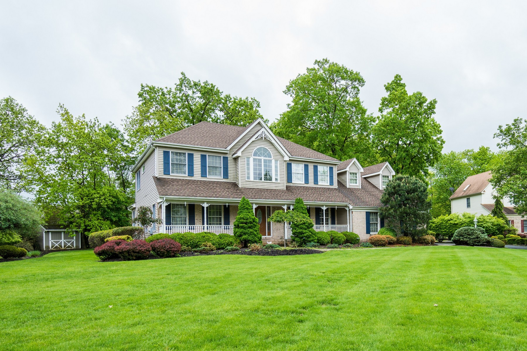 Single Family Homes for Sale at 17 Van Deripe Rd., Hillsborough Township 17 Van Deripe Rd. Hillsborough, New Jersey 08844 United States